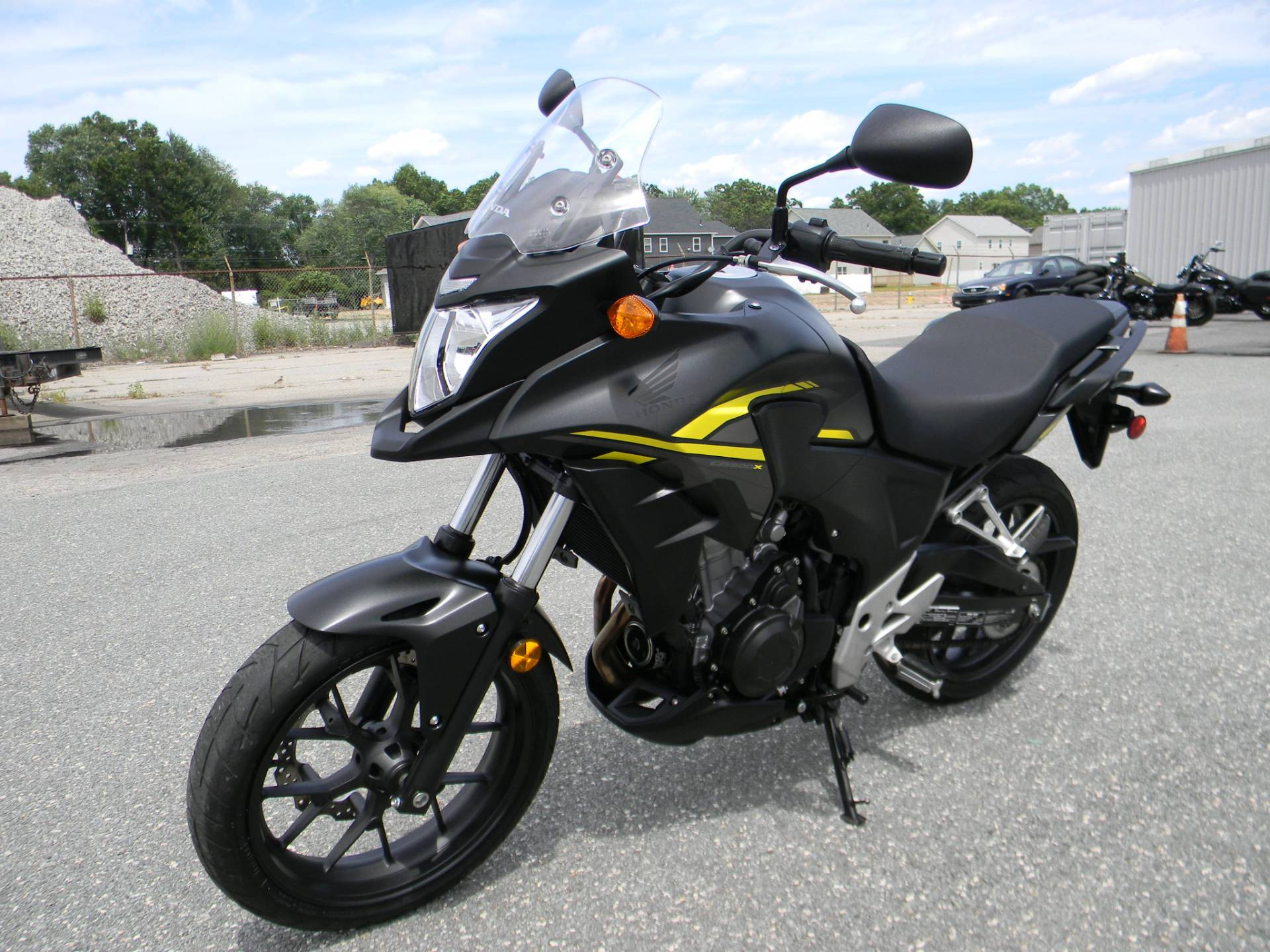 2015 Honda CB500X in Springfield, Massachusetts - Photo 4
