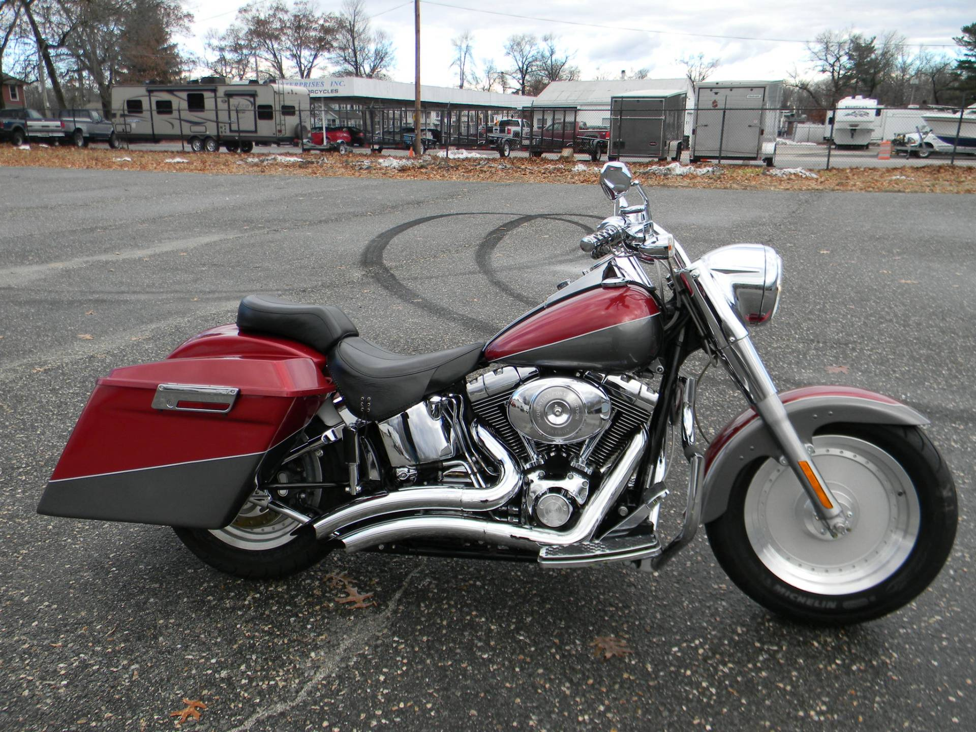 2005 Harley-Davidson FLSTF/FLSTFI Fat Boy® in Springfield, Massachusetts - Photo 1