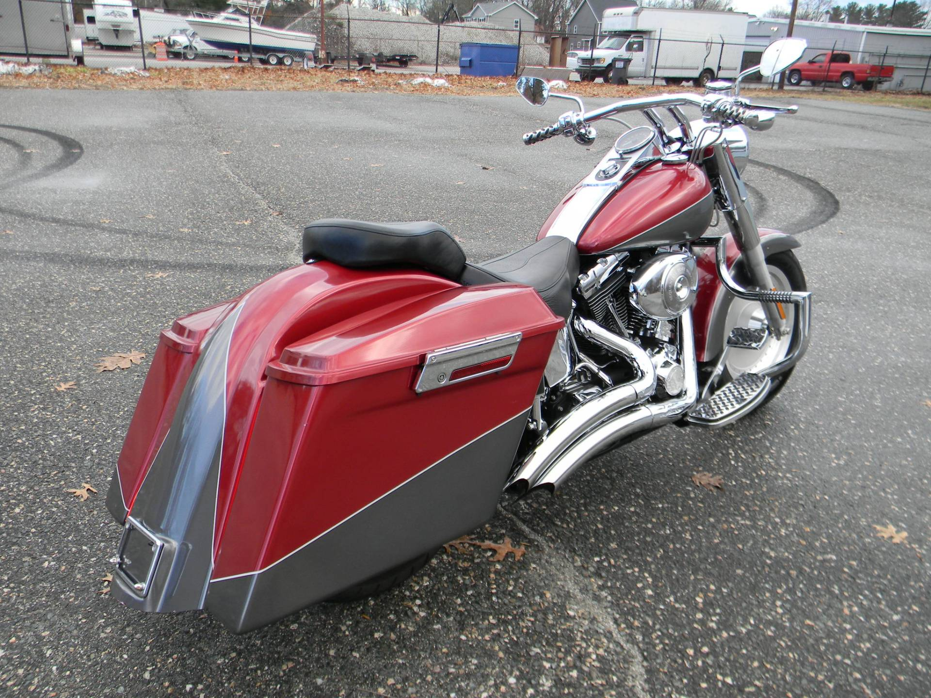 2005 Harley-Davidson FLSTF/FLSTFI Fat Boy® in Springfield, Massachusetts