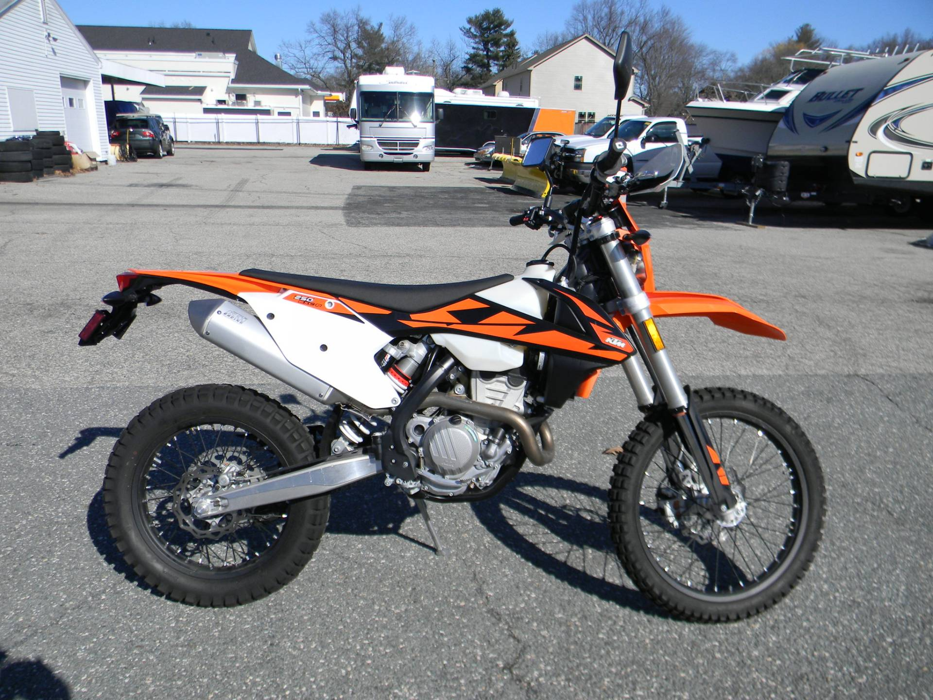 2018 KTM 250 EXC-F in Springfield, Massachusetts - Photo 1