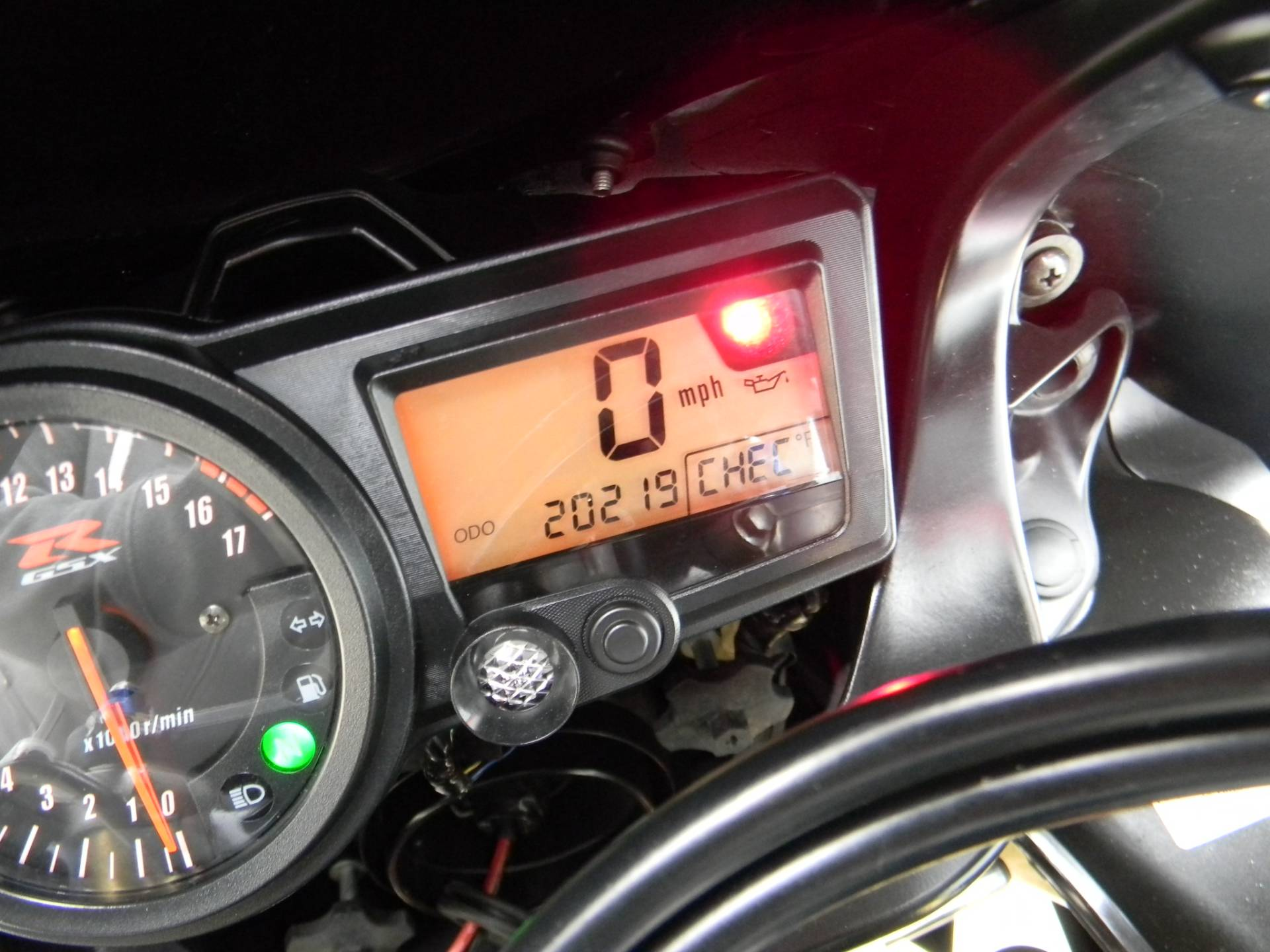 2005 Suzuki GSX-R600 in Springfield, Massachusetts