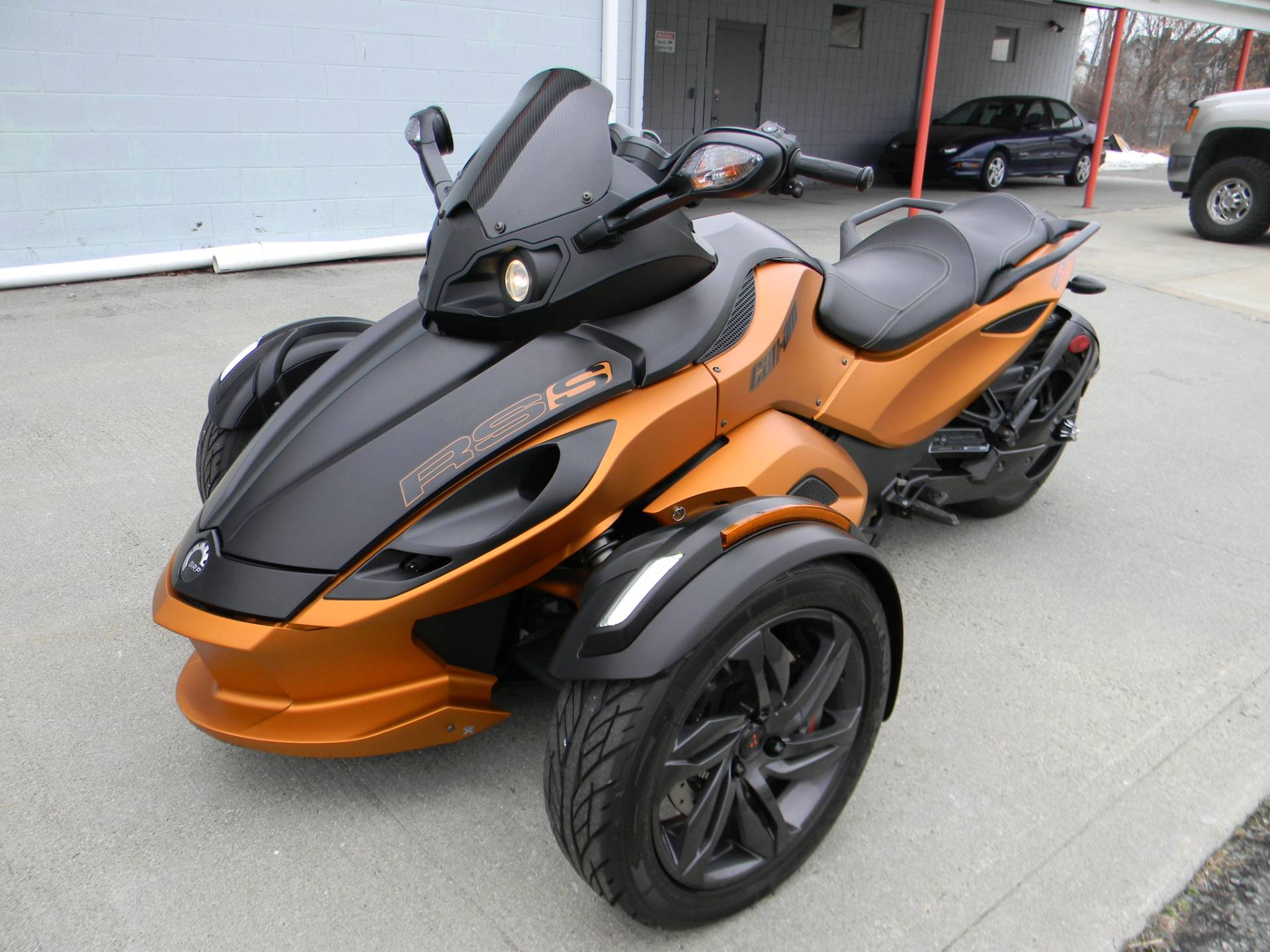 2013 Can-Am Spyder® RS SE5 in Springfield, Massachusetts