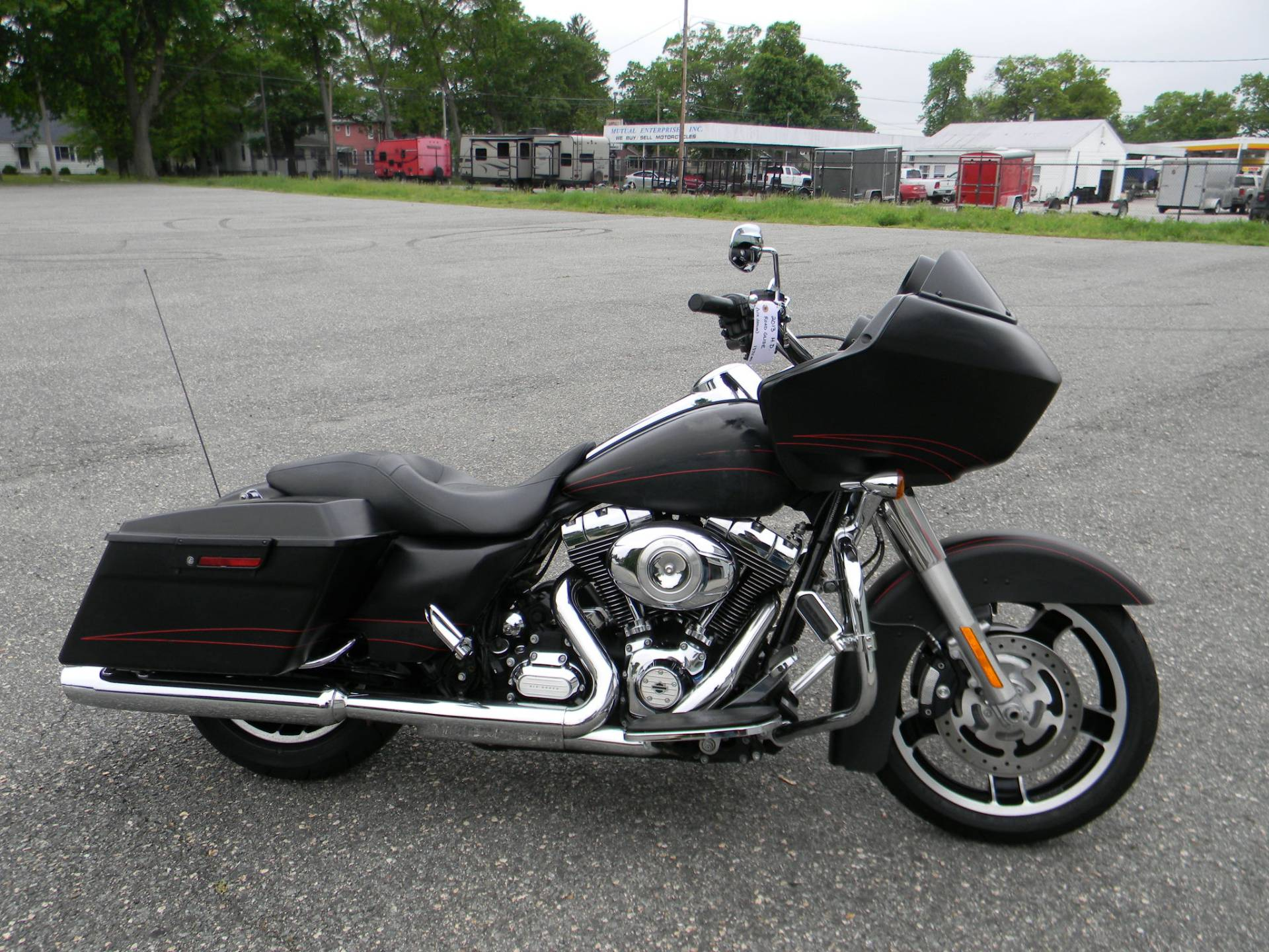 2013 Harley-Davidson Road Glide® Custom in Springfield, Massachusetts - Photo 1