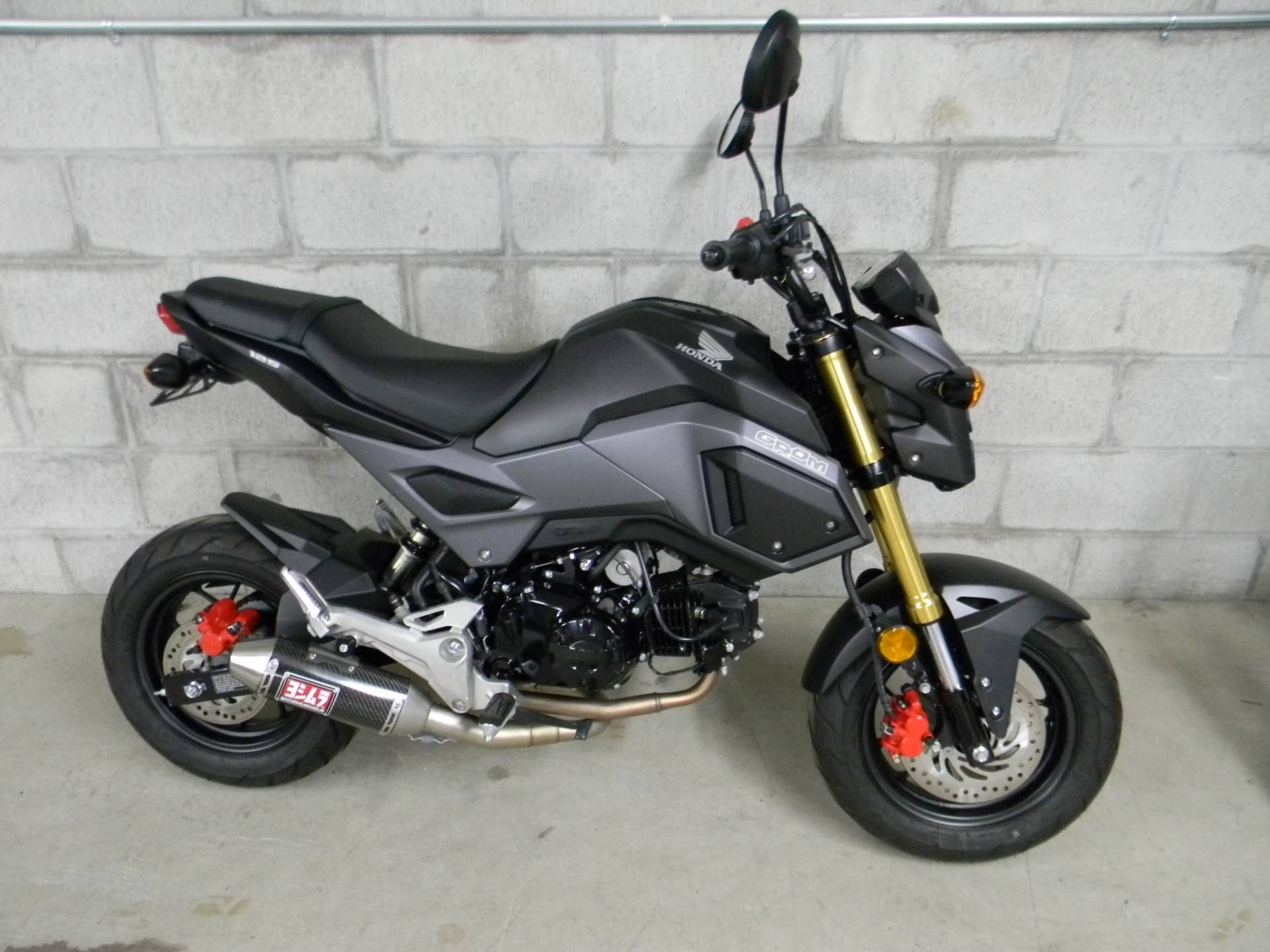 2017 Honda Grom Motorcycles Springfield Massachusetts N A