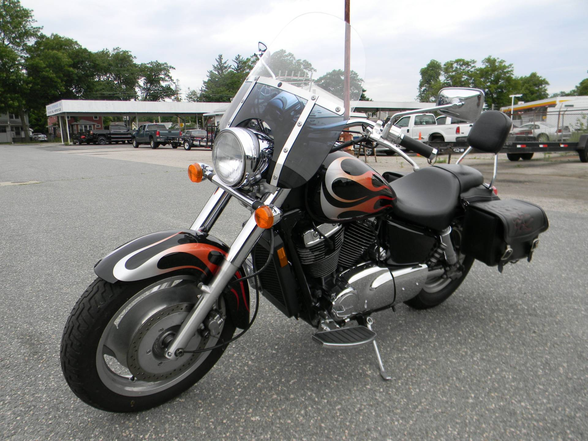 2005 Honda Shadow Sabre™ 1100 in Springfield, Massachusetts - Photo 5