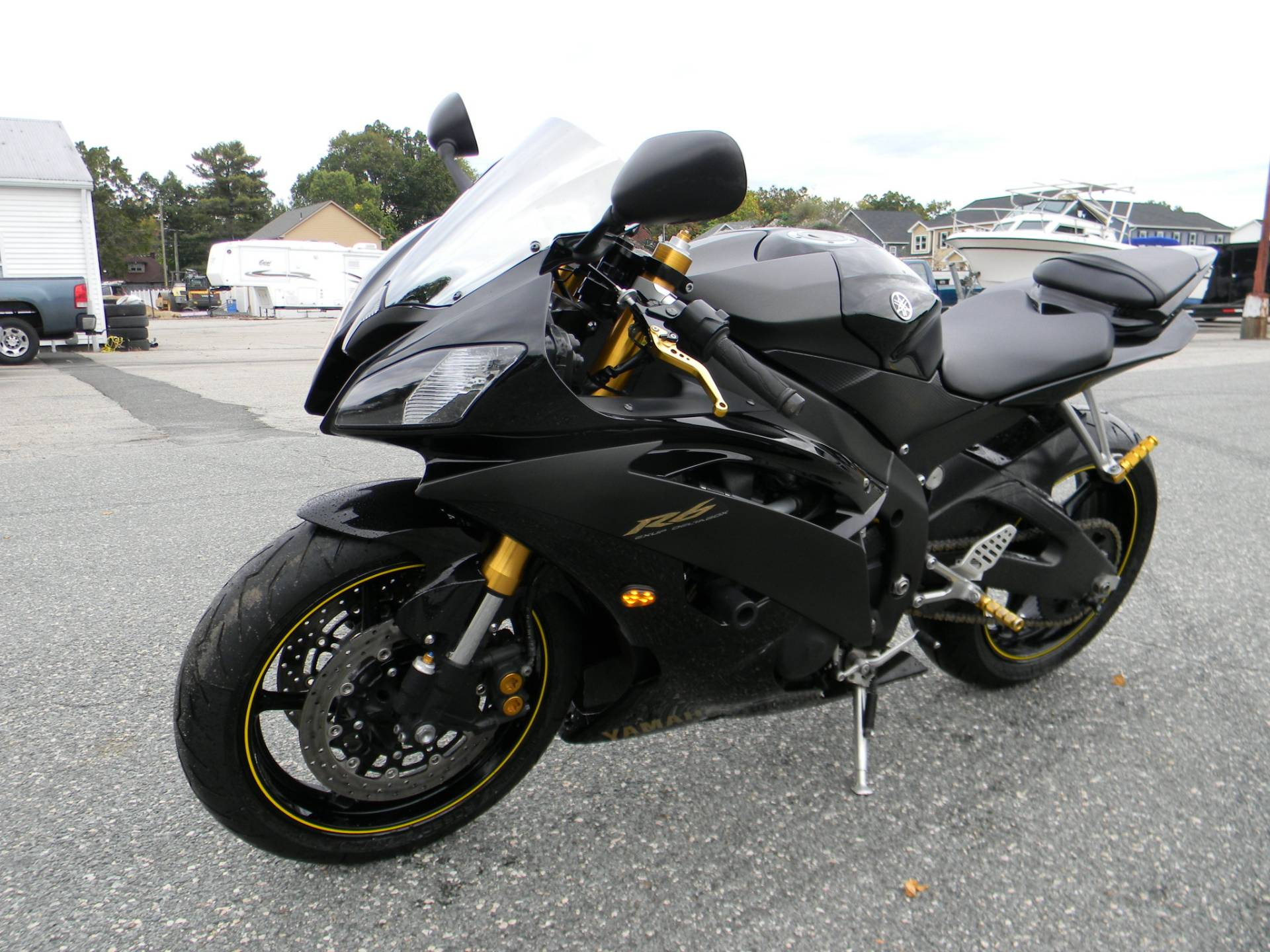 2008 Yamaha YZFR6 in Springfield, Massachusetts - Photo 5