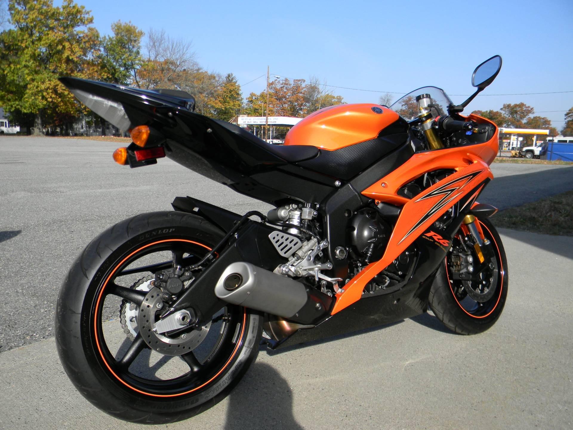 2009 Yamaha YZF-R6 in Springfield, Massachusetts