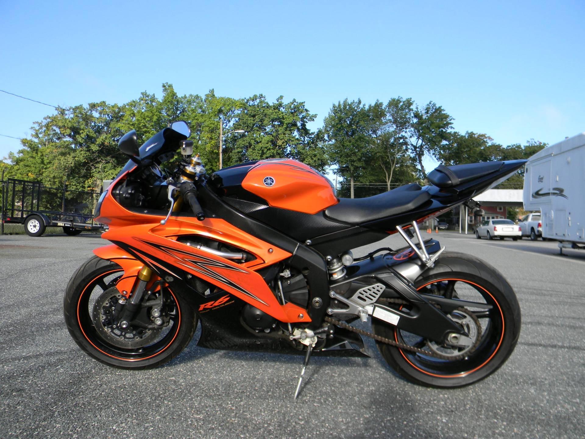 2009 Yamaha YZF-R6 5
