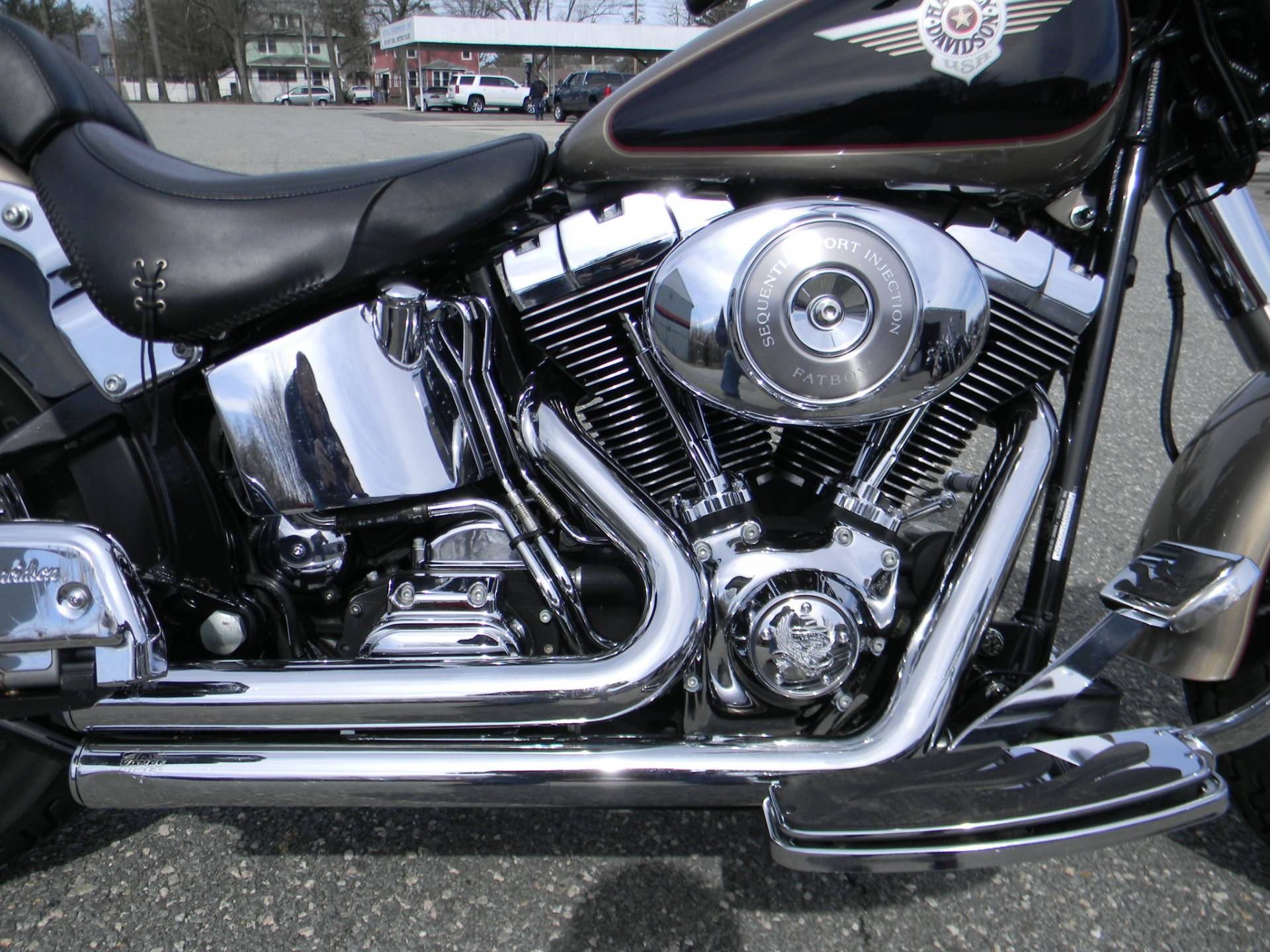 2004 Harley-Davidson FLSTF/FLSTFI Fat Boy® in Springfield, Massachusetts