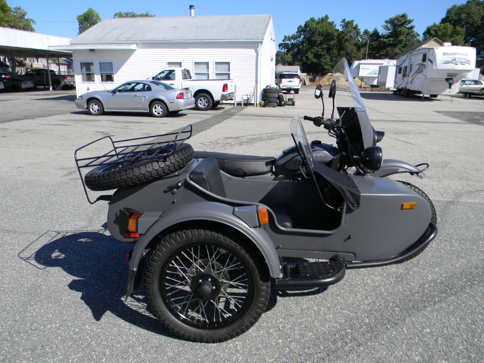 2014 Ural Motorcycles Gear-Up in Springfield, Massachusetts - Photo 1