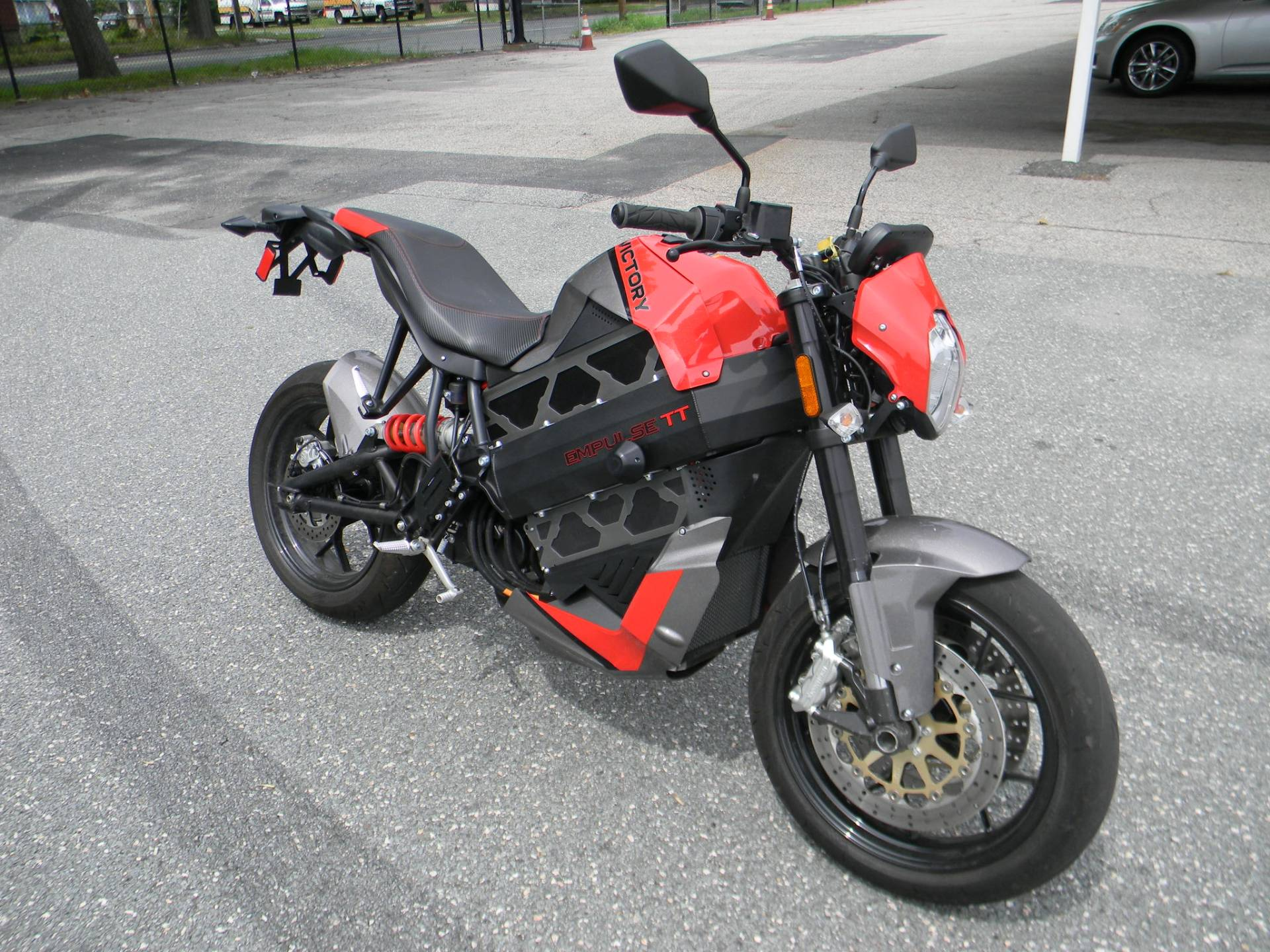 2016 Victory Empulse TT in Springfield, Massachusetts