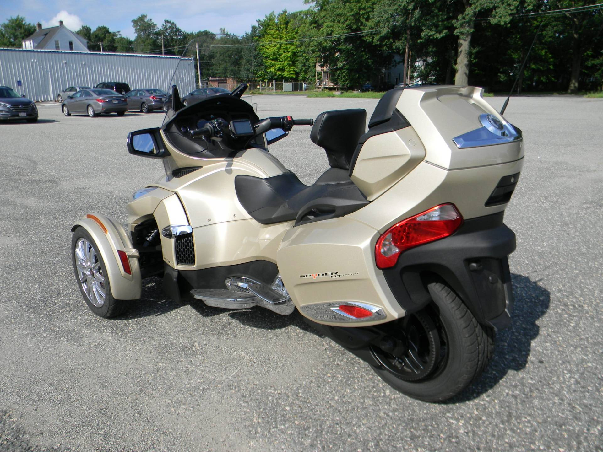 2017 Can-Am Spyder RT Limited in Springfield, Massachusetts