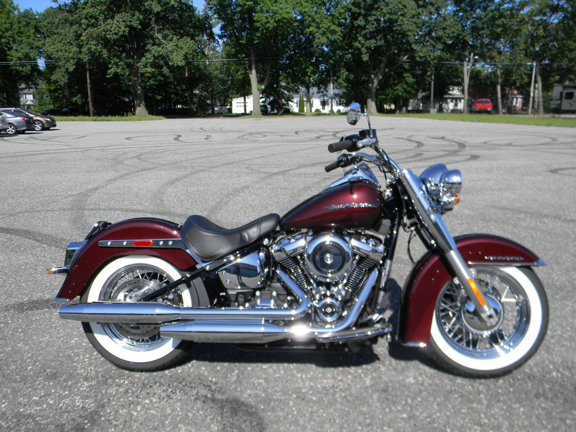 2018 Harley-Davidson Softail® Deluxe 107 in Springfield, Massachusetts - Photo 1
