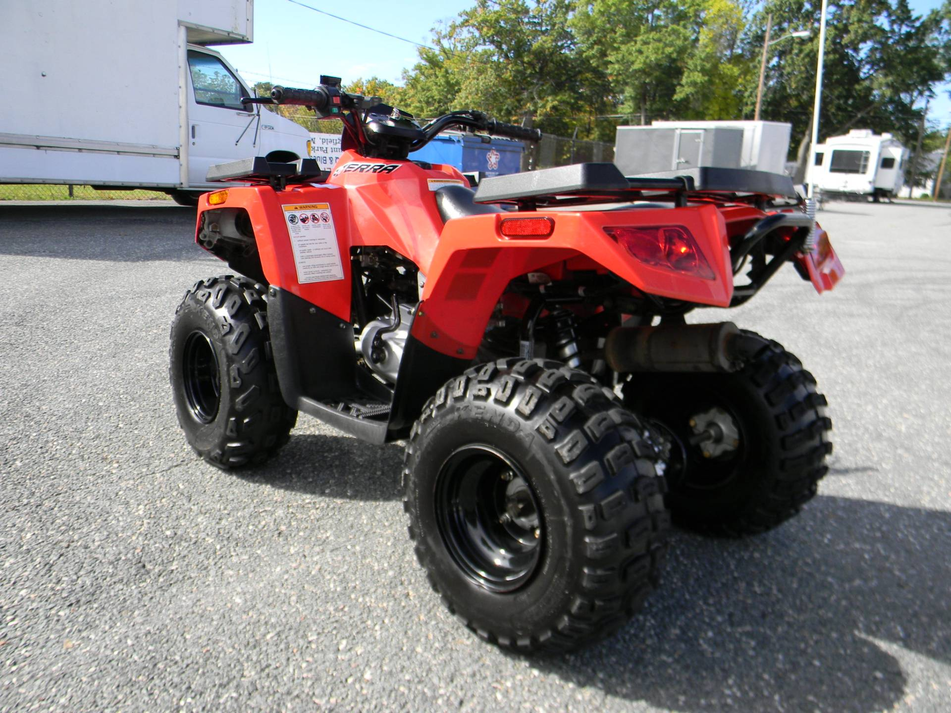 2017 Arctic Cat Alterra 90 in Springfield, Massachusetts - Photo 8