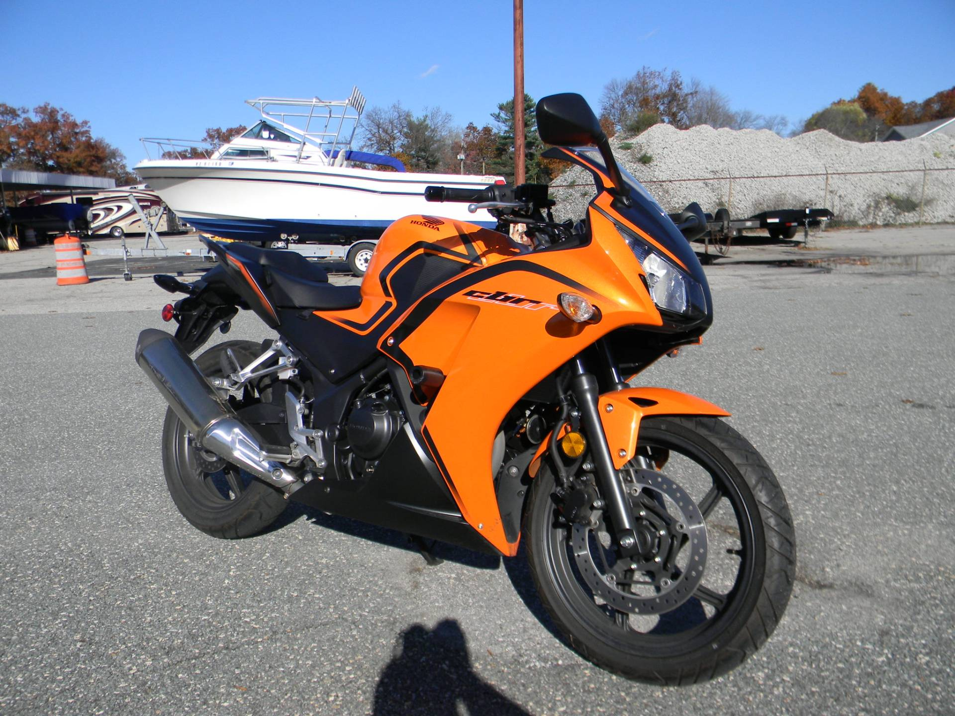 2016 Honda CBR300R in Springfield, Massachusetts