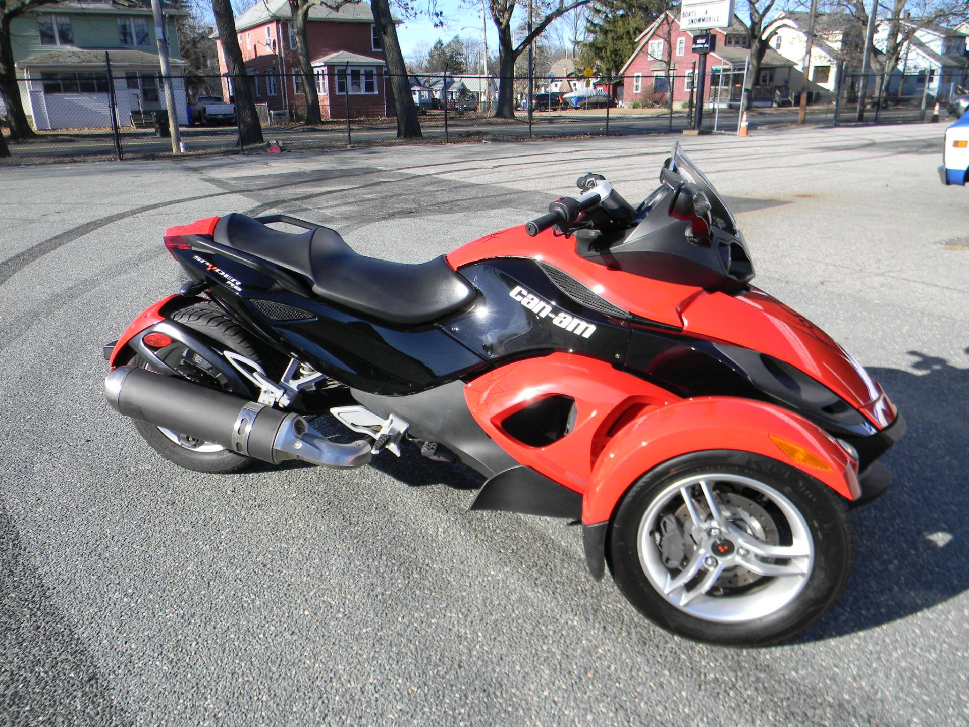 2010 Can-Am Spyder® RS SE5 in Springfield, Massachusetts
