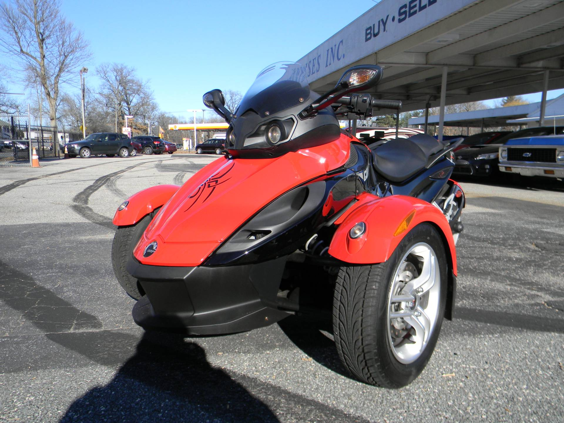 2010 Can-Am� Spyder RS SE5 5