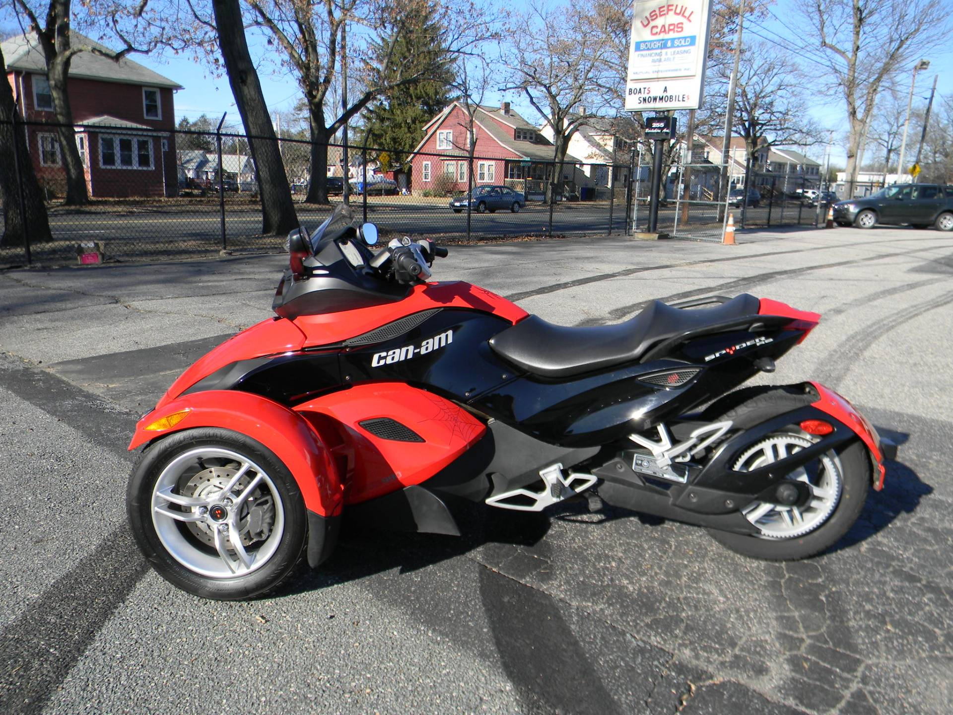 2010 Can-Am� Spyder RS SE5 6