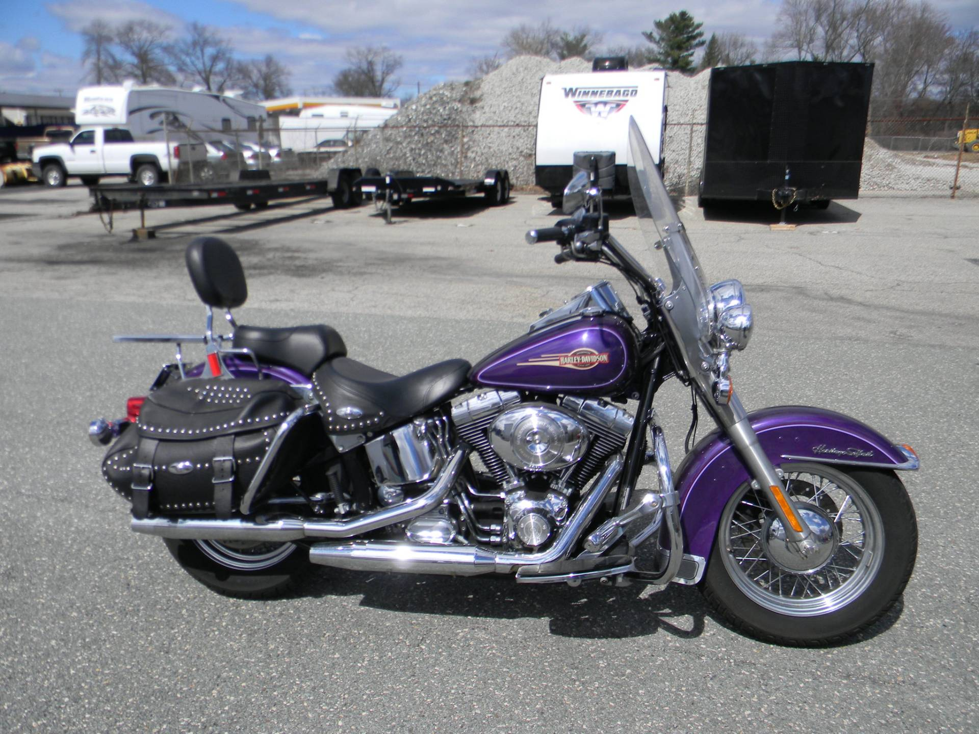 2005 Harley-Davidson FLSTC/FLSTCI Heritage Softail® Classic in Springfield, Massachusetts - Photo 1
