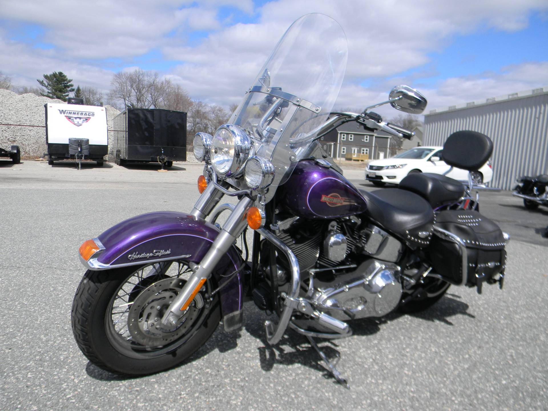 2005 Harley-Davidson FLSTC/FLSTCI Heritage Softail® Classic in Springfield, Massachusetts - Photo 5