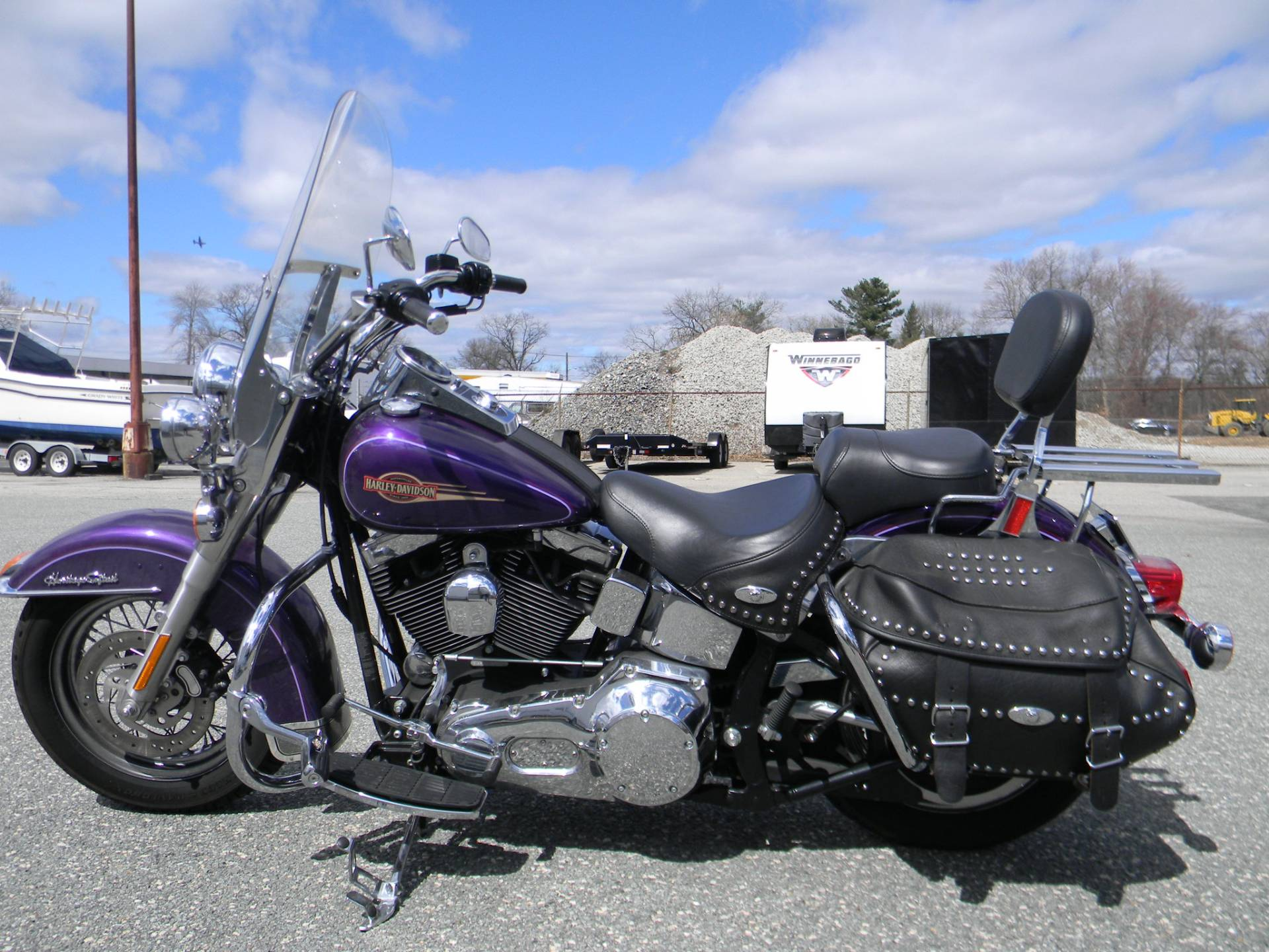 2005 Harley-Davidson FLSTC/FLSTCI Heritage Softail® Classic in Springfield, Massachusetts - Photo 6