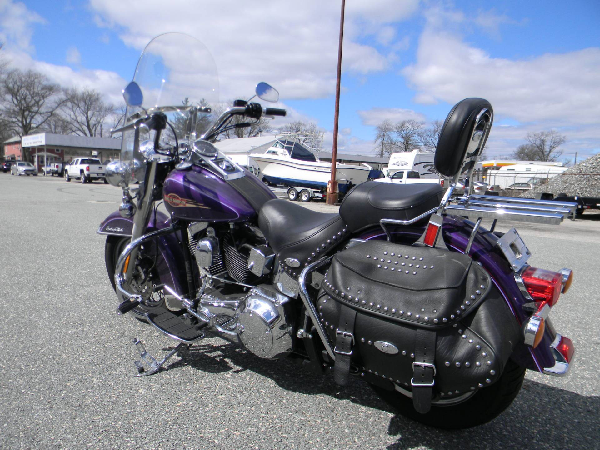 2005 Harley-Davidson FLSTC/FLSTCI Heritage Softail® Classic in Springfield, Massachusetts - Photo 7