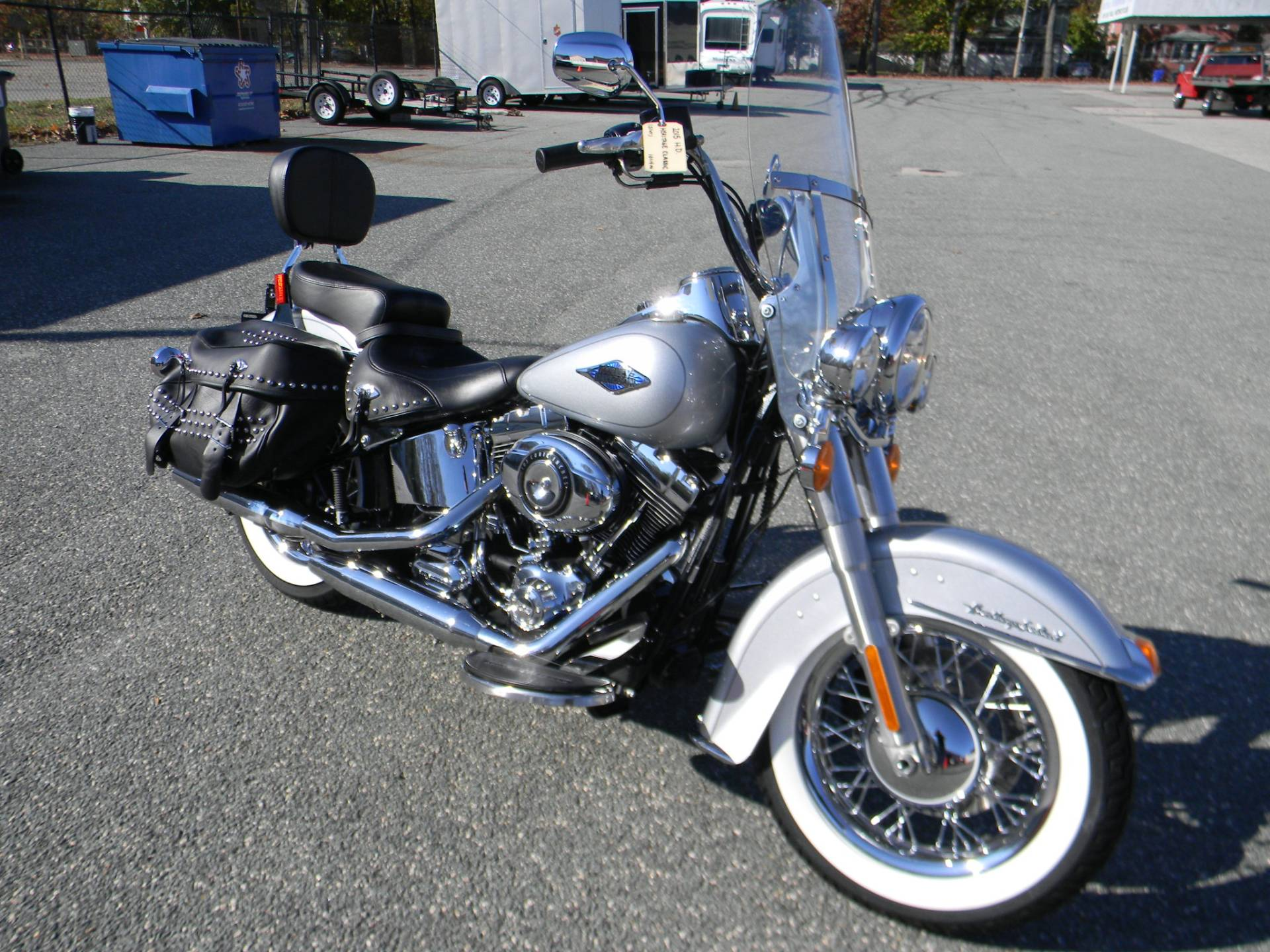 2015 Harley-Davidson Heritage Softail® Classic in Springfield, Massachusetts - Photo 2