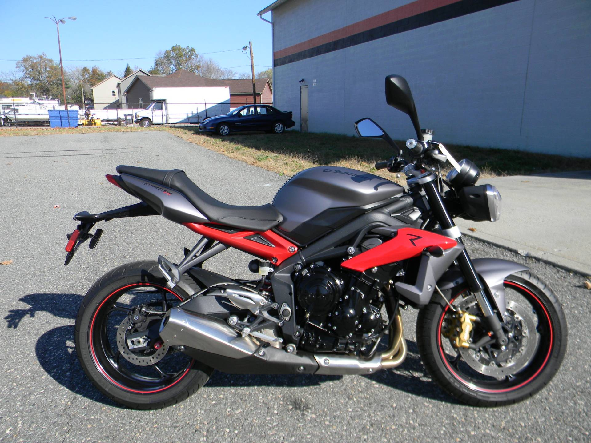 2014 Triumph Street Triple R ABS in Springfield, Massachusetts - Photo 1
