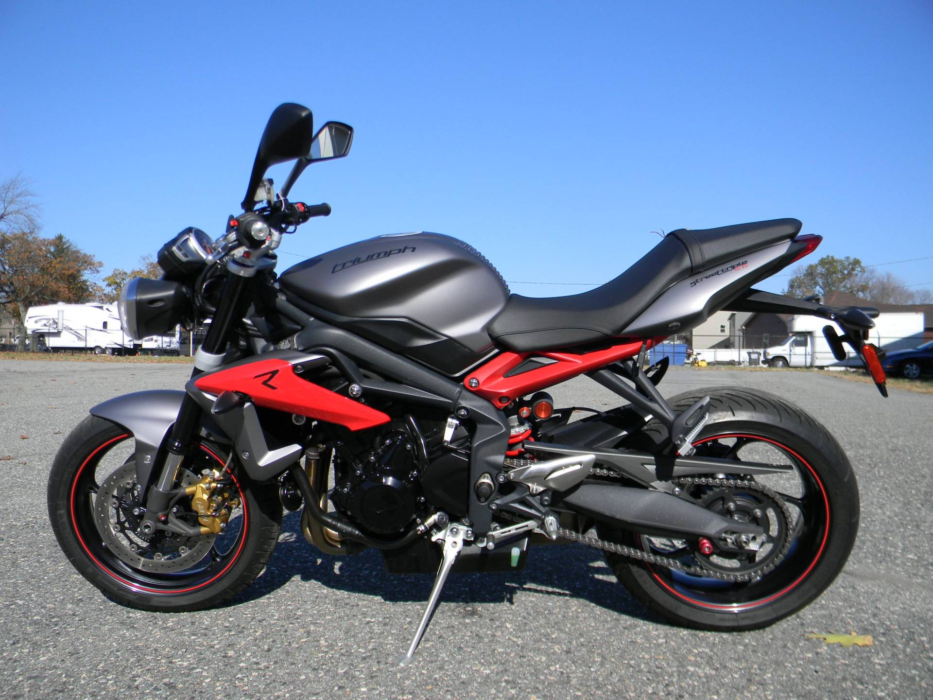 2014 Triumph Street Triple R ABS in Springfield, Massachusetts - Photo 5