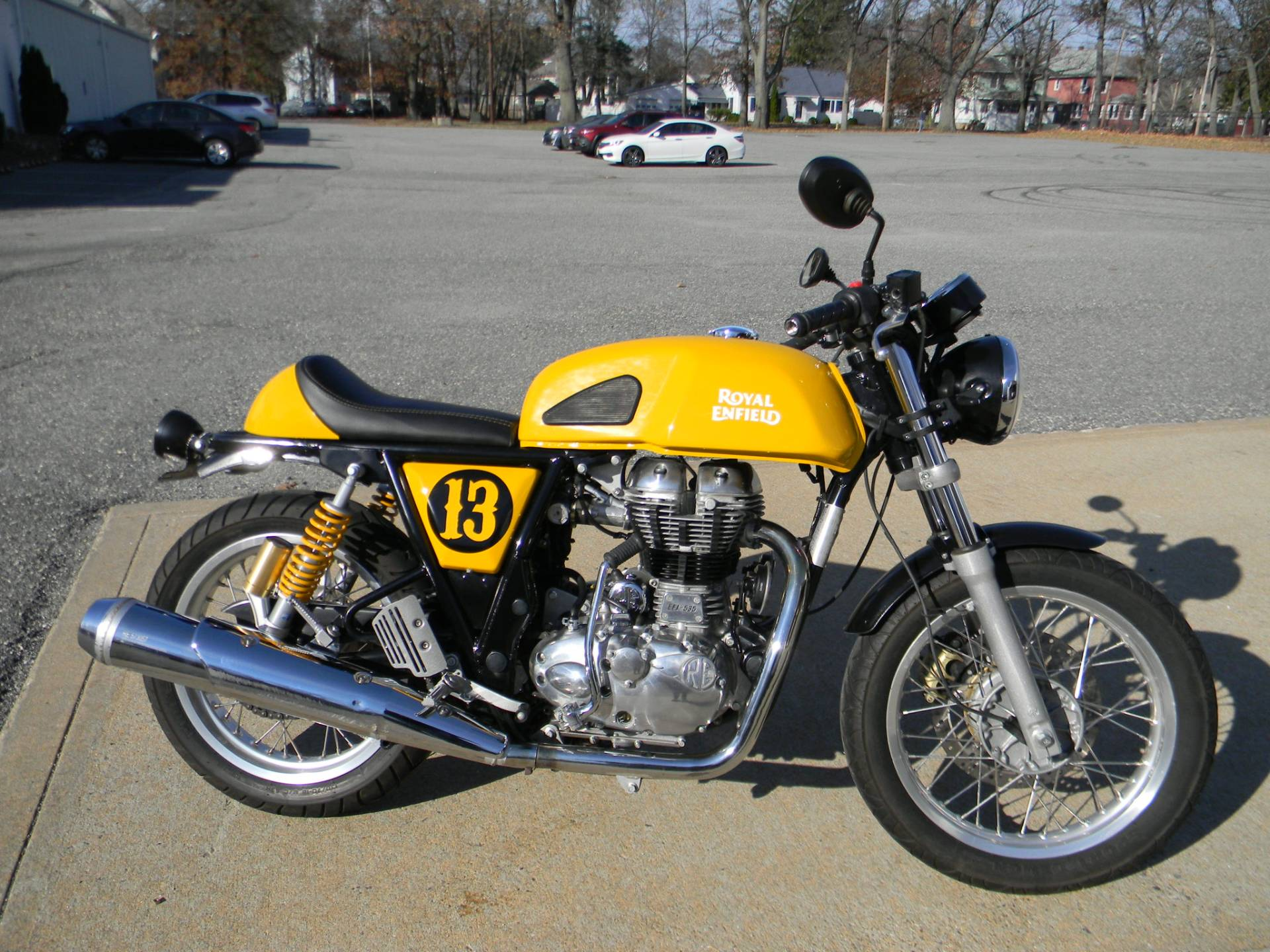 2015 Royal Enfield Continental GT in Springfield, Massachusetts - Photo 1