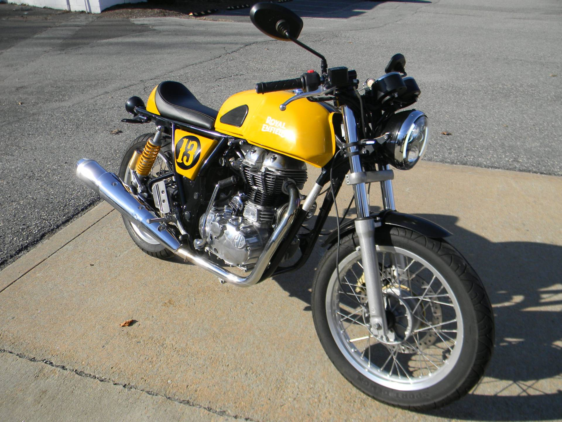 2015 Royal Enfield Continental GT in Springfield, Massachusetts - Photo 2