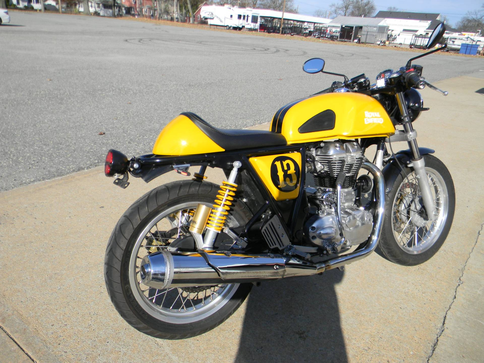 2015 Royal Enfield Continental GT in Springfield, Massachusetts - Photo 3