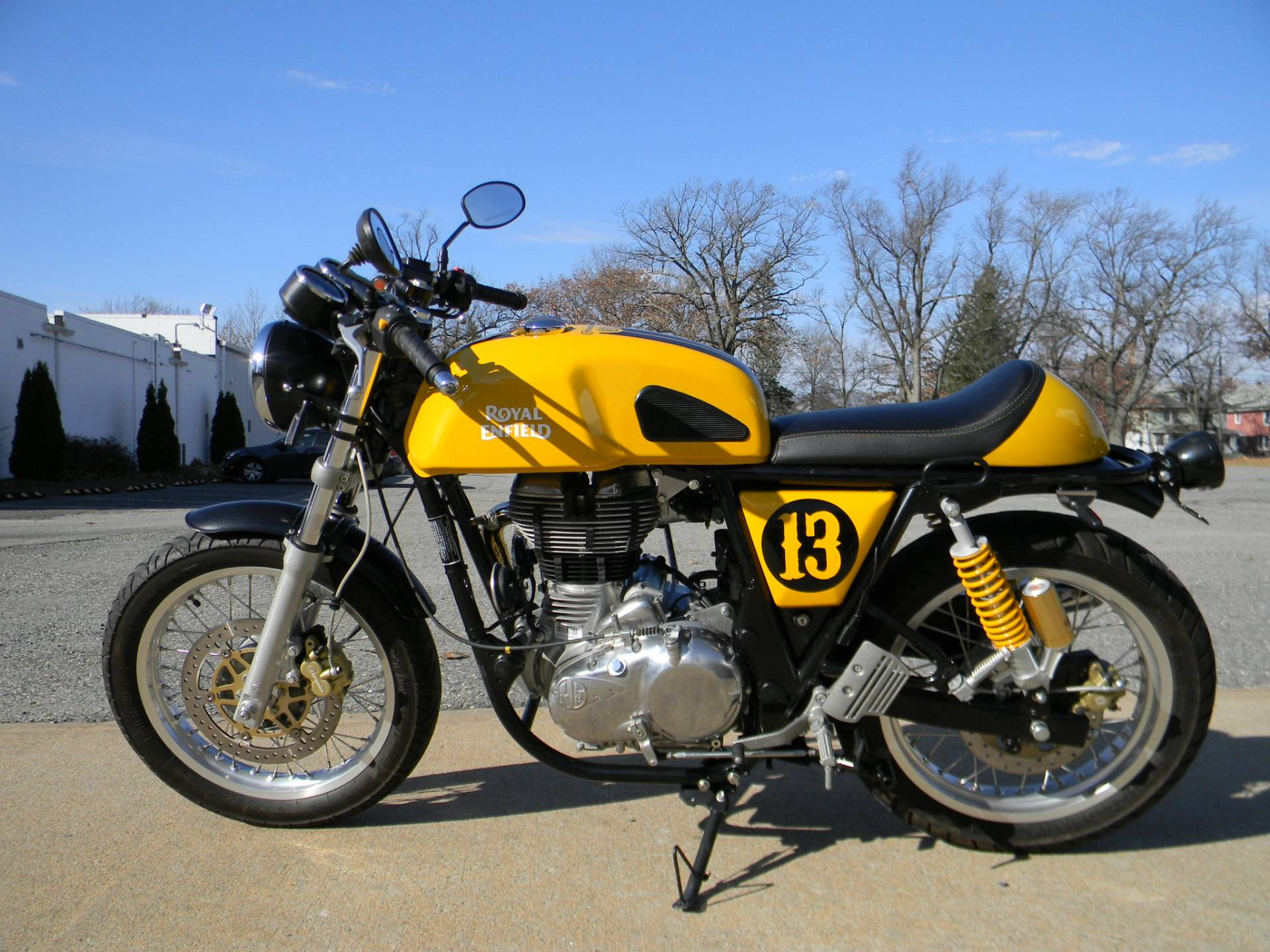 2015 Royal Enfield Continental GT in Springfield, Massachusetts - Photo 7