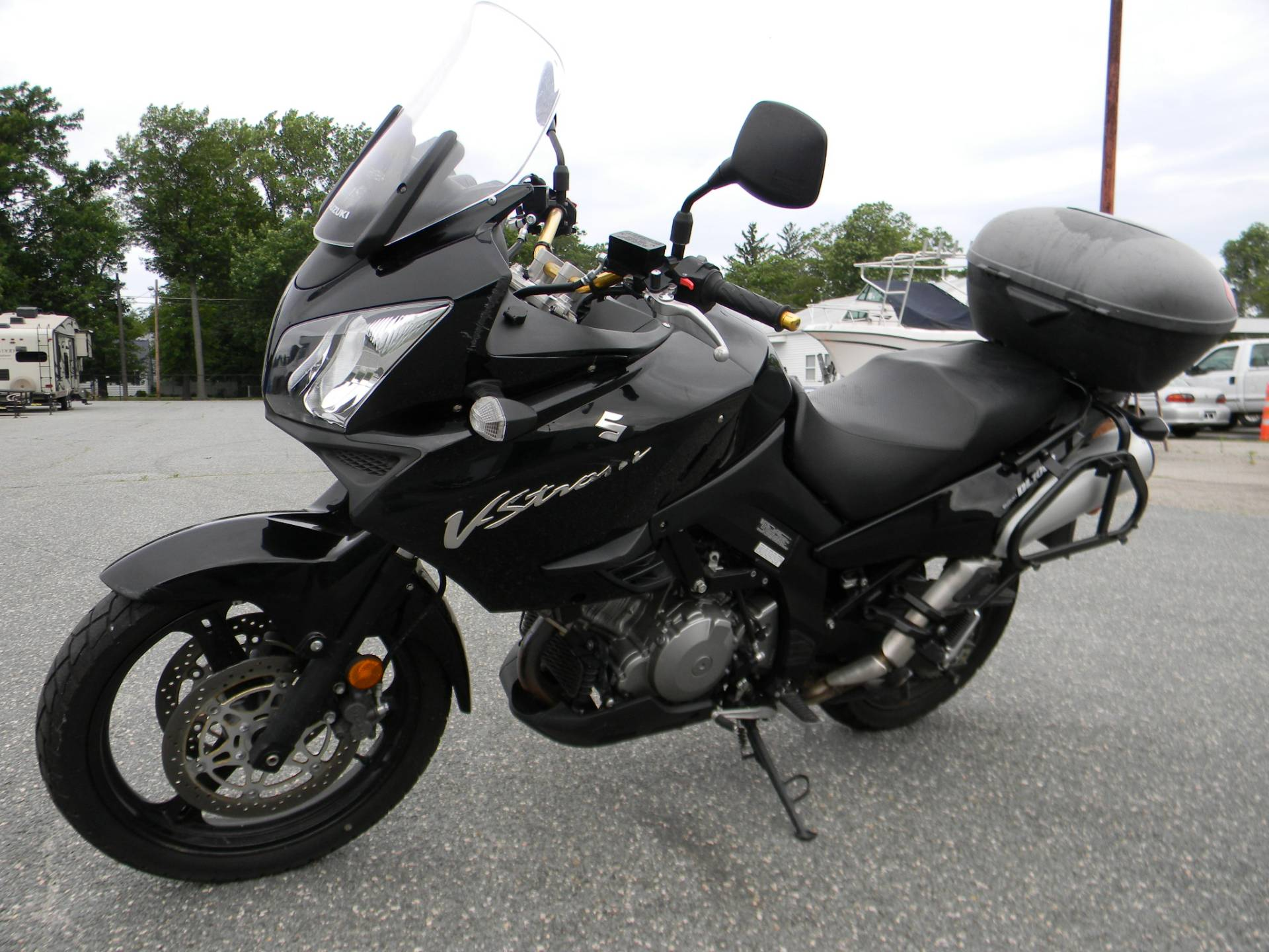 2012 Suzuki V-Strom 1000 in Springfield, Massachusetts