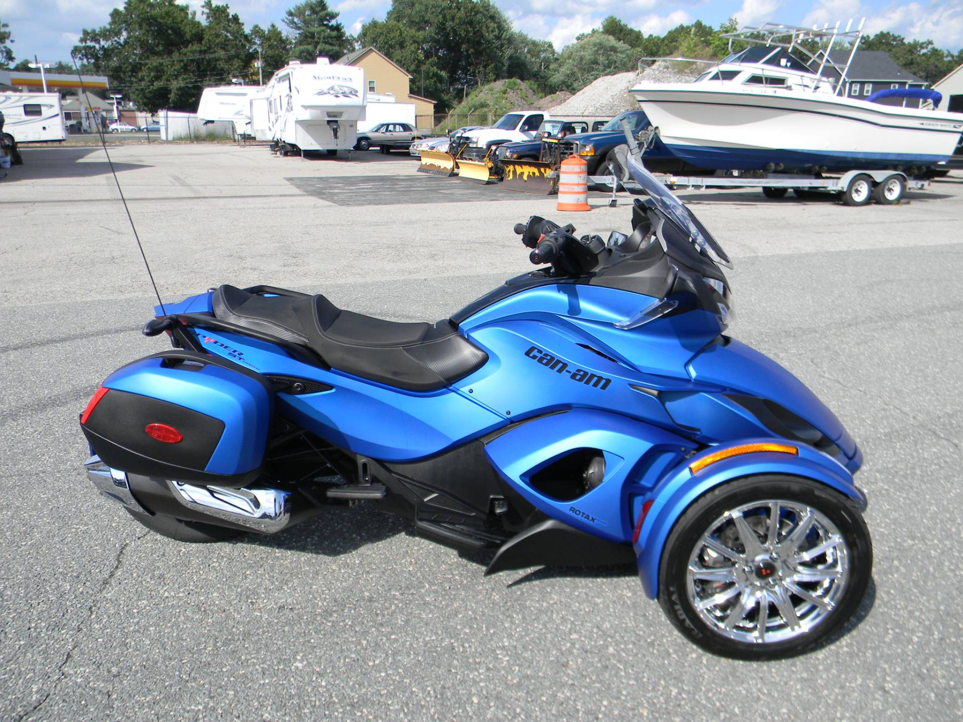 2015 Can-Am Spyder® ST Limited in Springfield, Massachusetts - Photo 1