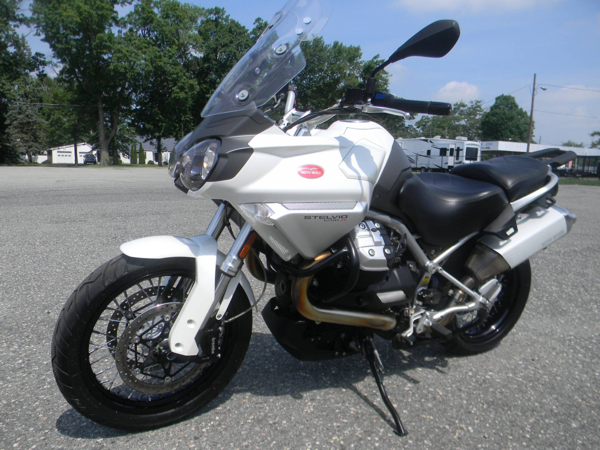 2011 Moto Guzzi Stelvio 1200 ABS in Springfield, Massachusetts - Photo 5