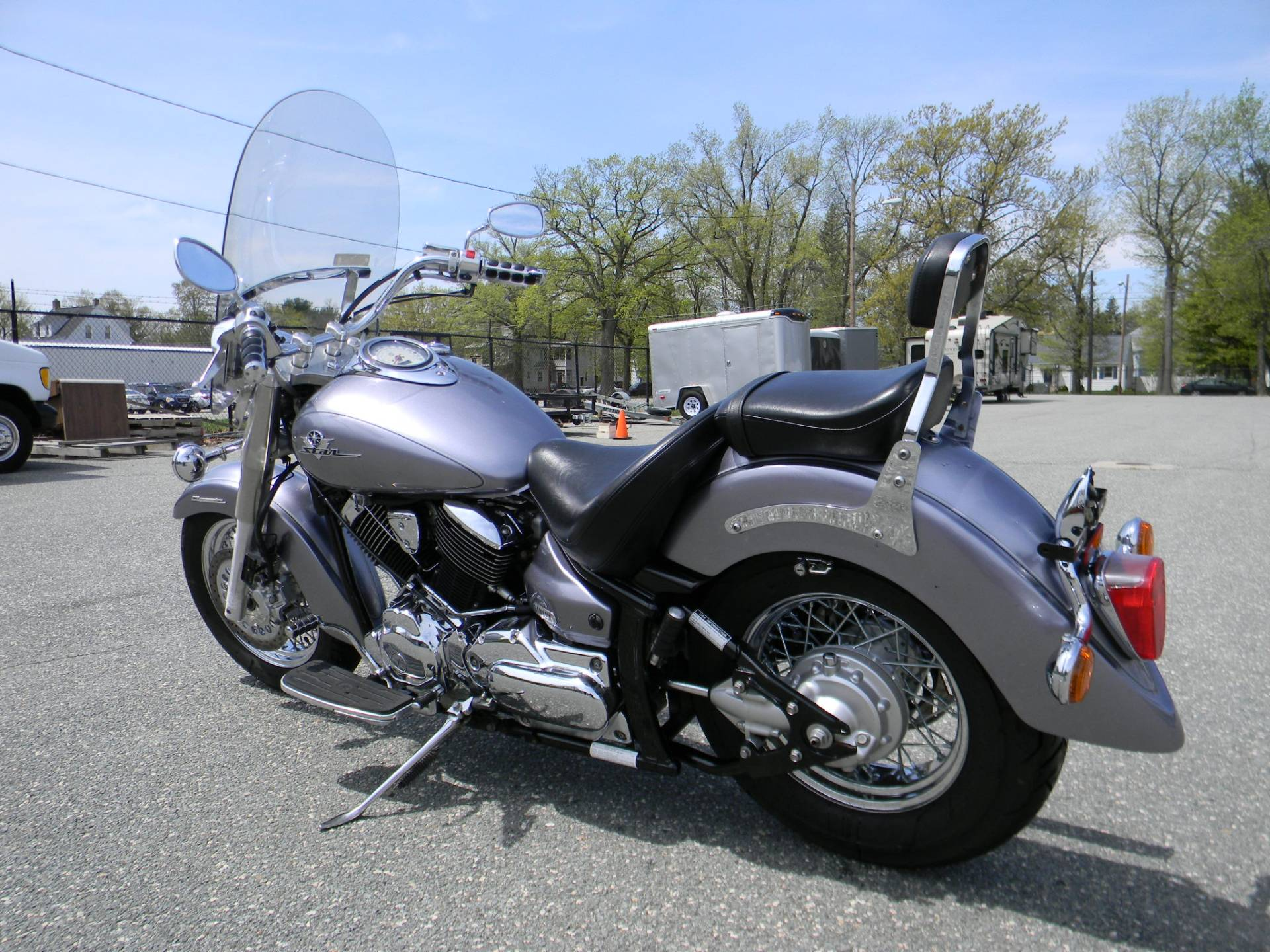 2003 Yamaha V Star 1100 Classic in Springfield, Massachusetts