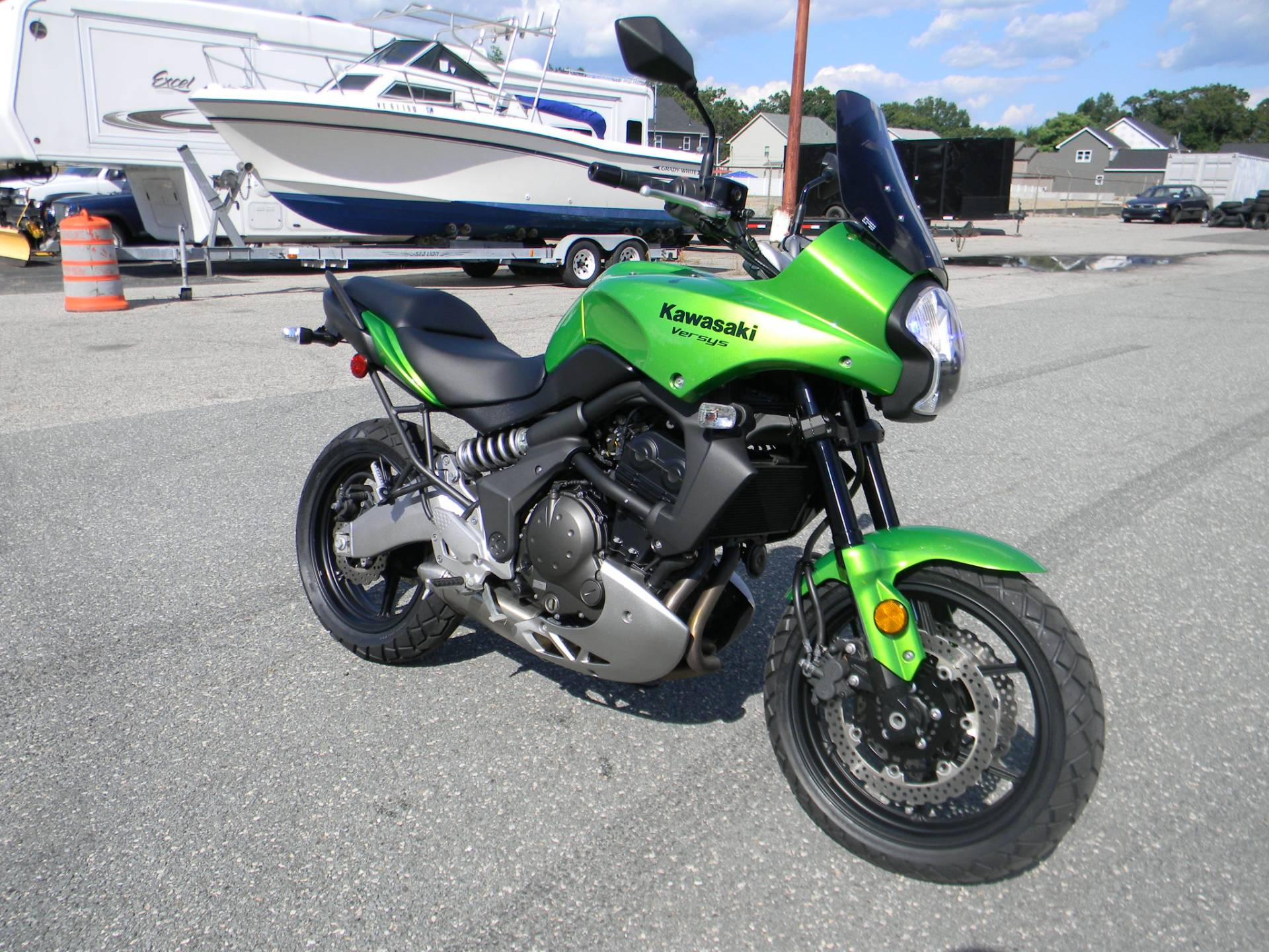 2009 Kawasaki Versys™ in Springfield, Massachusetts - Photo 2