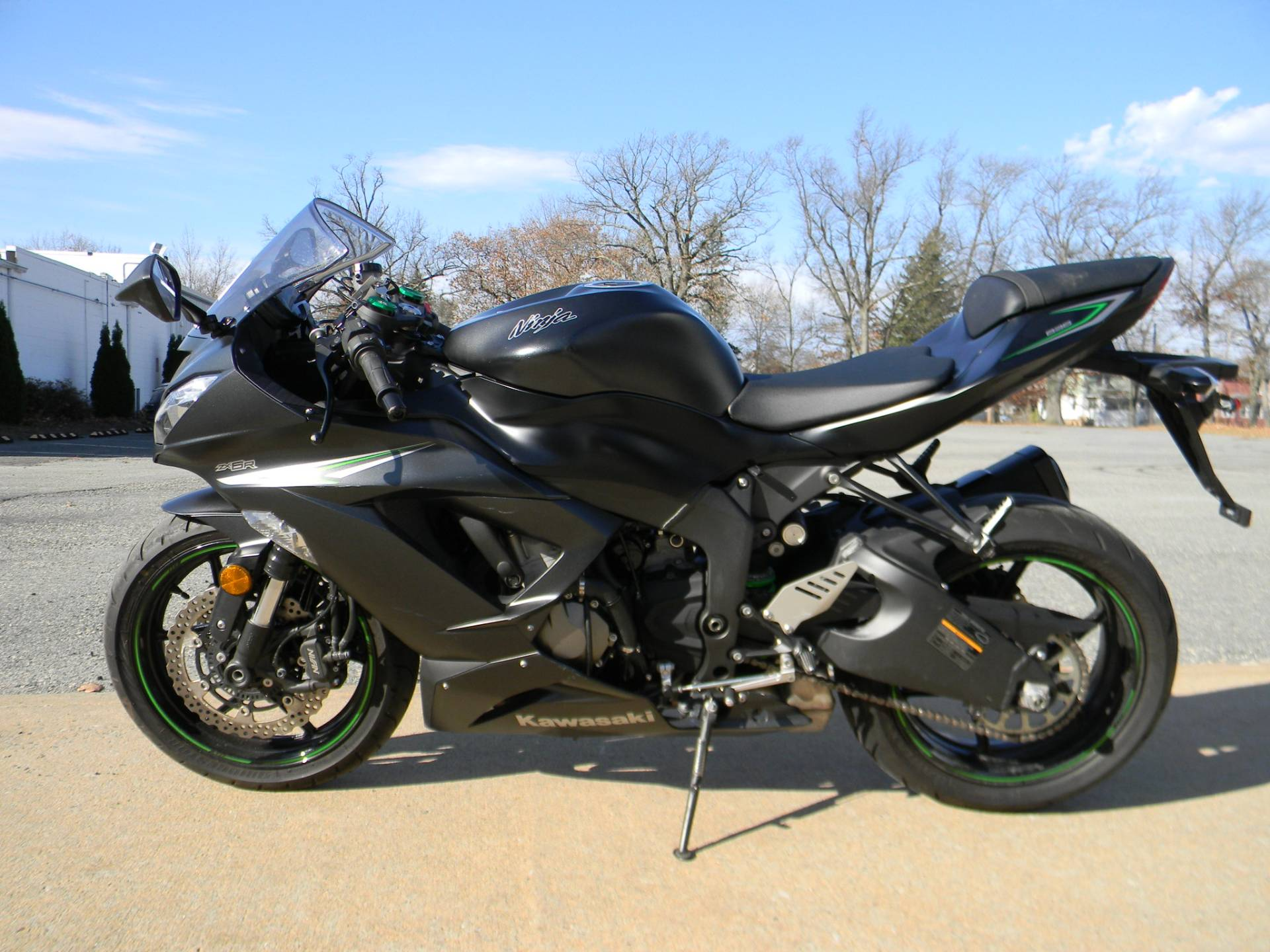 2016 Kawasaki Ninja ZX-6R ABS in Springfield, Massachusetts - Photo 6