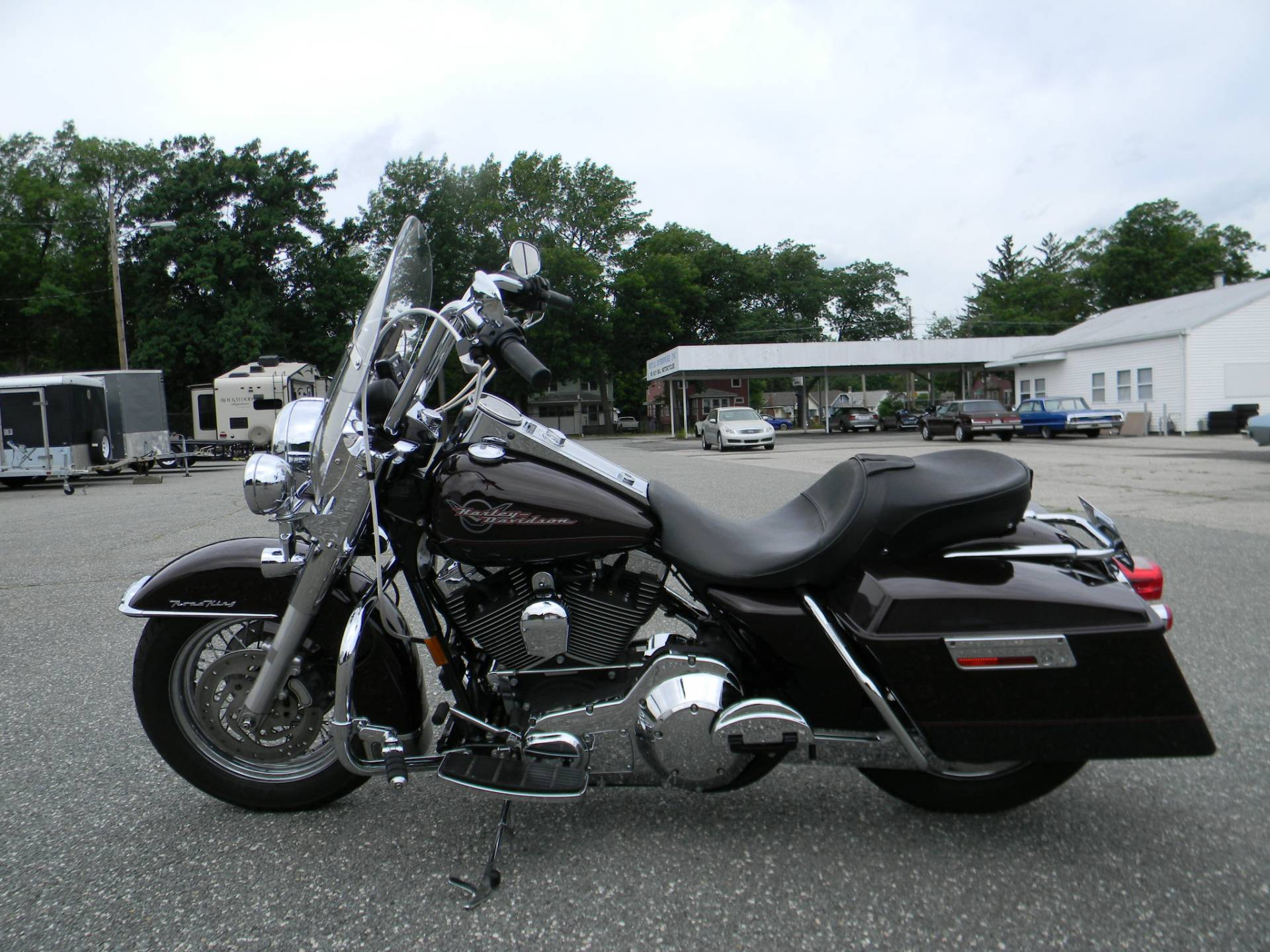 2005 Harley-Davidson FLHR/FLHRI Road King® in Springfield, Massachusetts