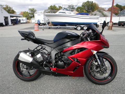 2011 Kawasaki Ninja® ZX™-6R in Springfield, Massachusetts - Photo 1
