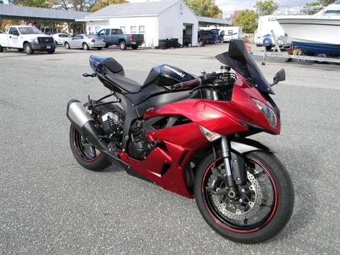 2011 Kawasaki Ninja® ZX™-6R in Springfield, Massachusetts - Photo 2
