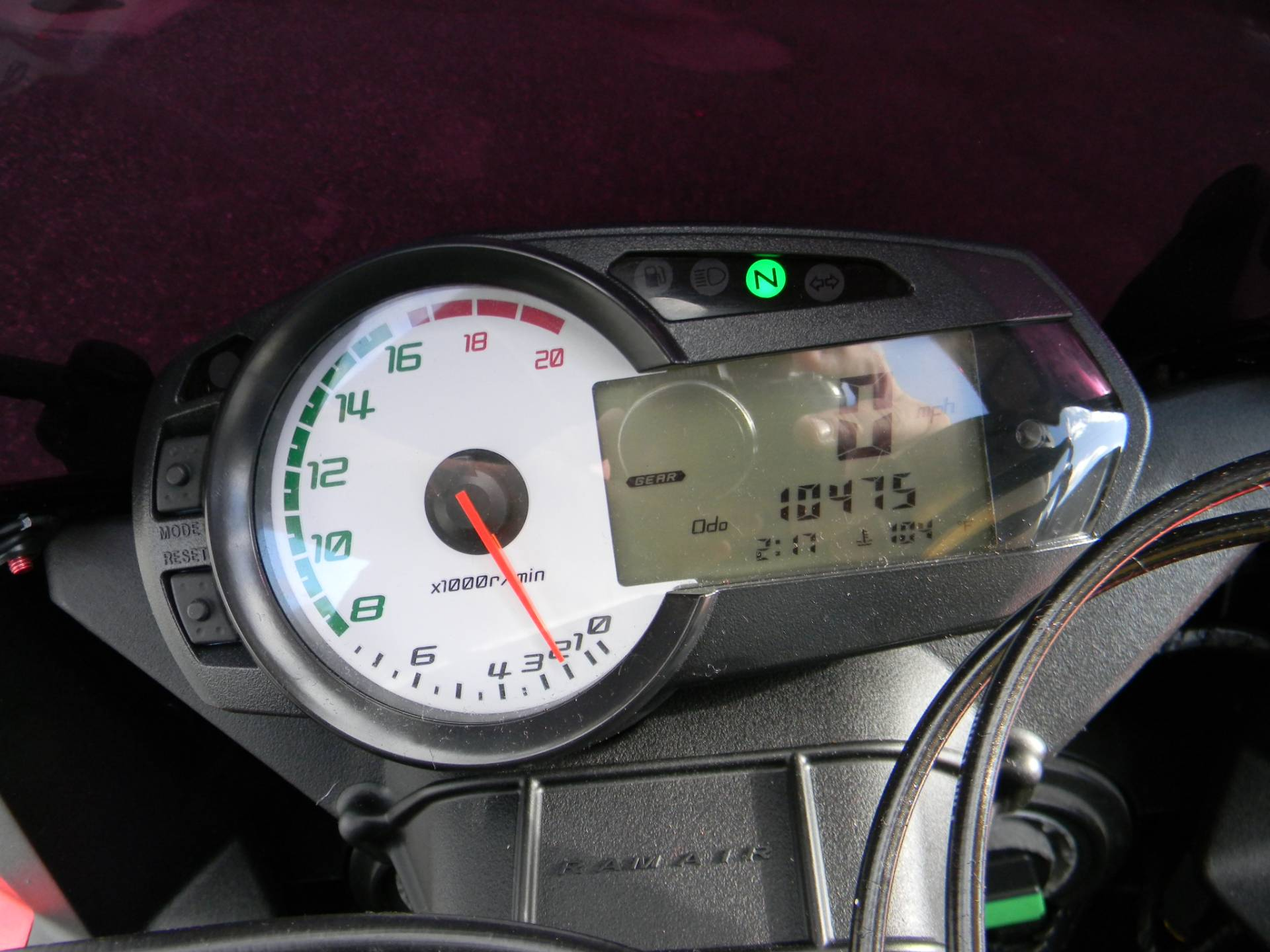 2011 Kawasaki Ninja® ZX™-6R in Springfield, Massachusetts - Photo 4