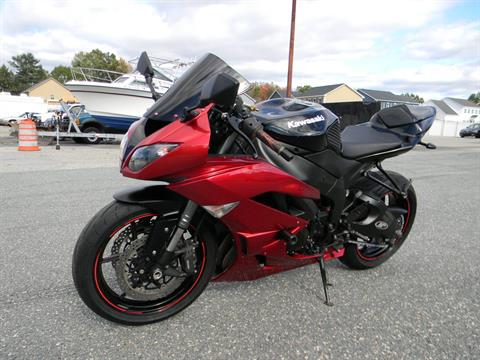 2011 Kawasaki Ninja® ZX™-6R in Springfield, Massachusetts - Photo 5