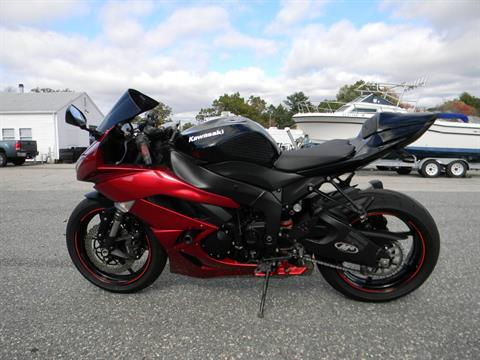 2011 Kawasaki Ninja® ZX™-6R in Springfield, Massachusetts - Photo 6