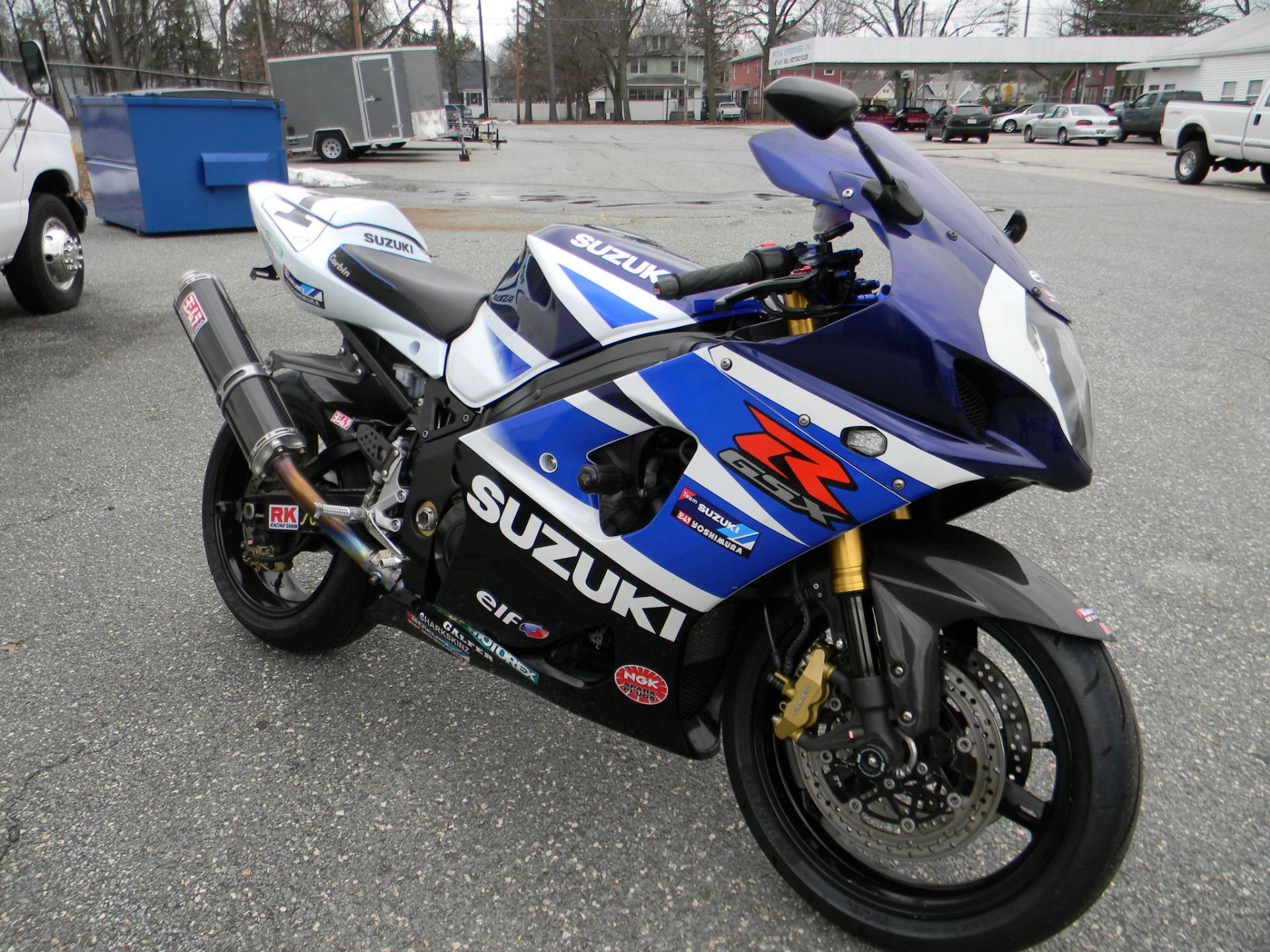 2004 Suzuki GSX-R1000 in Springfield, Massachusetts