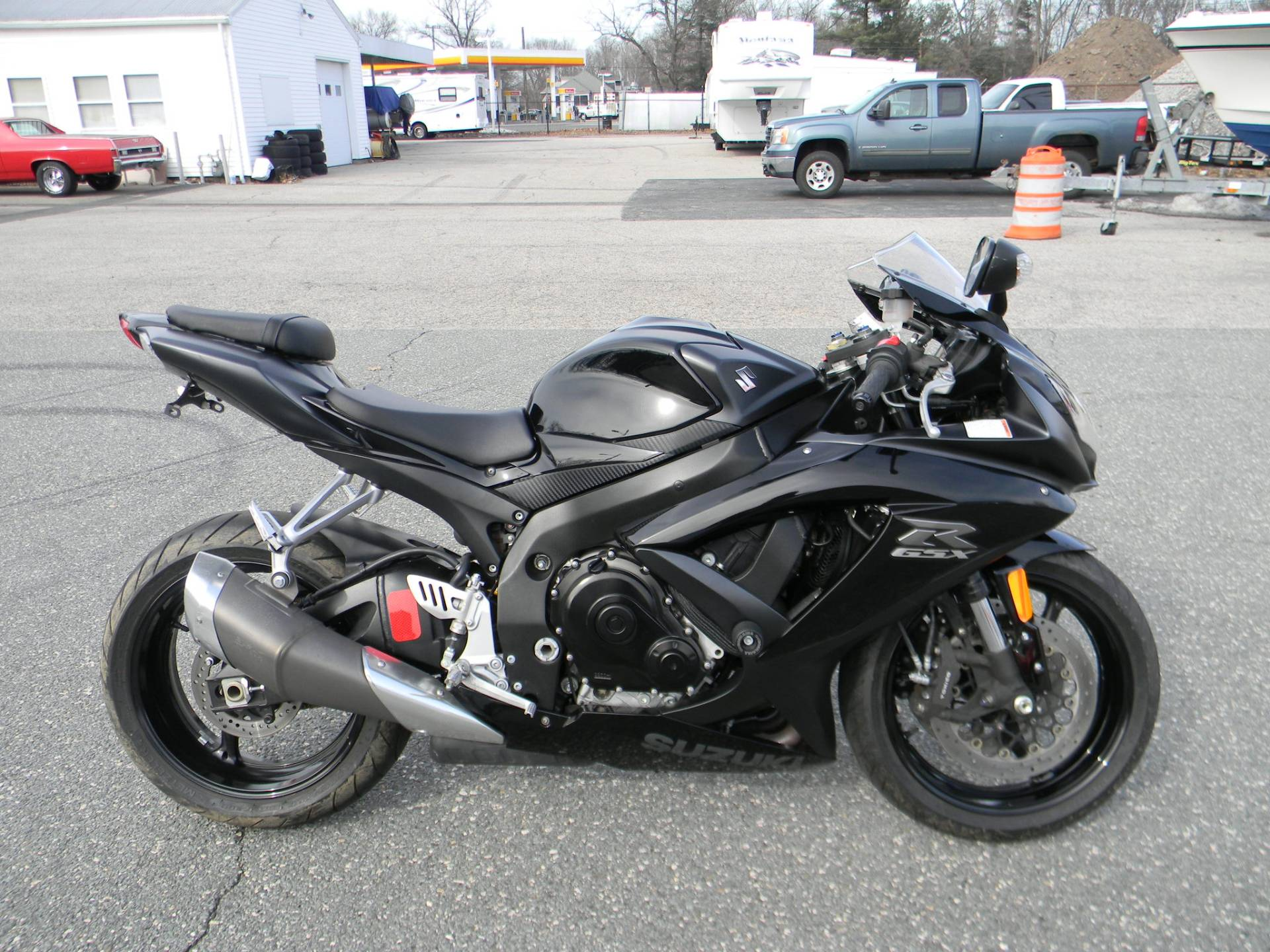 2008 Suzuki GSX-R750™ in Springfield, Massachusetts