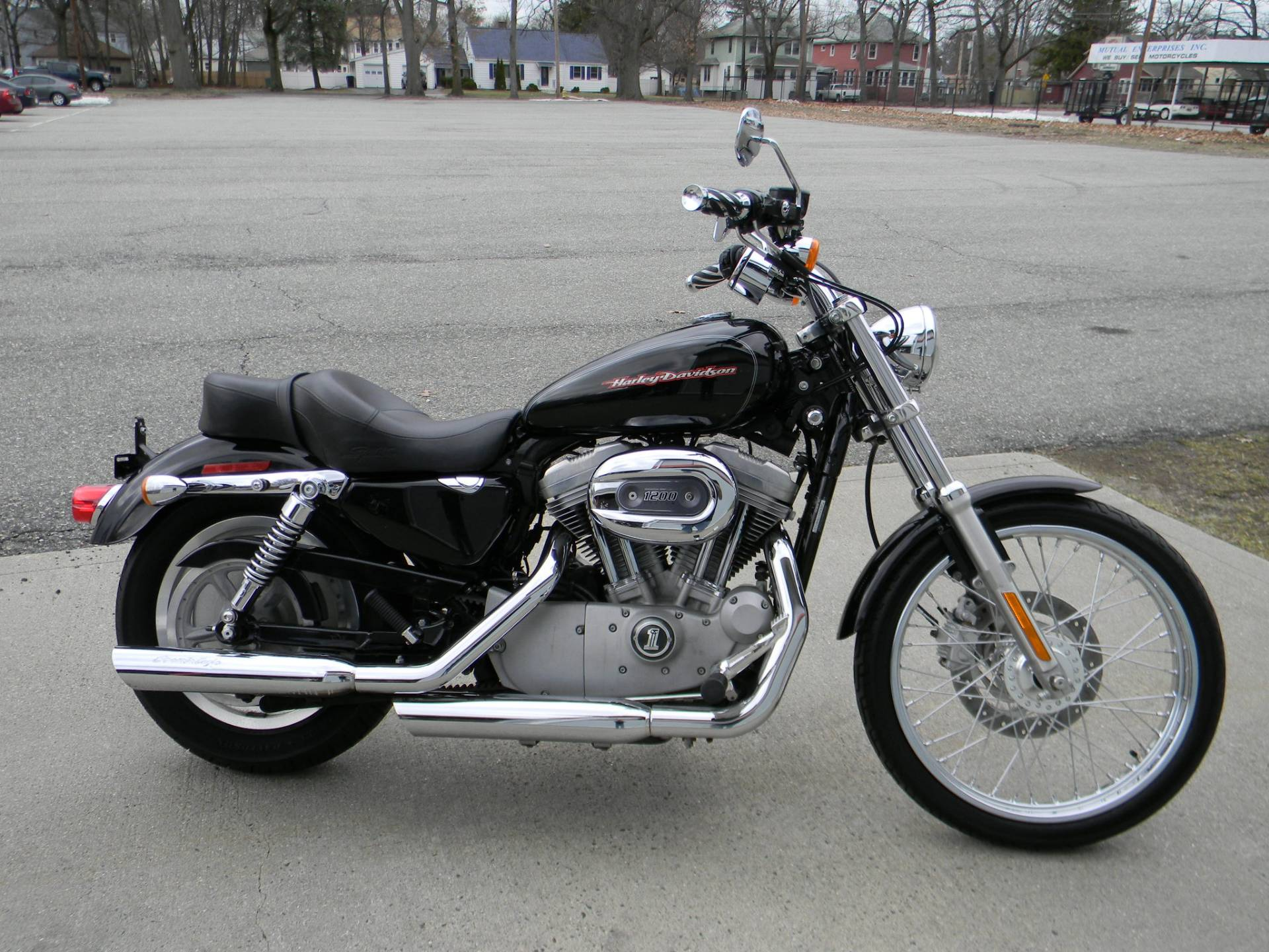 2007 harley davidson sportster 883 custom for sale. Black Bedroom Furniture Sets. Home Design Ideas