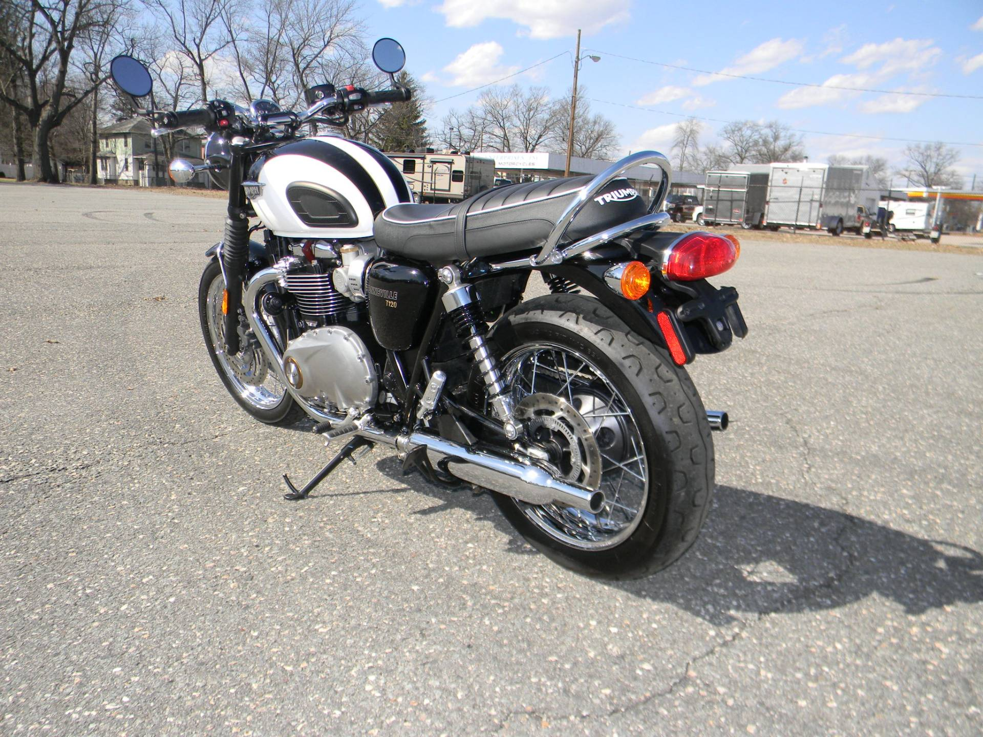 2017 Triumph Bonneville T120 in Springfield, Massachusetts