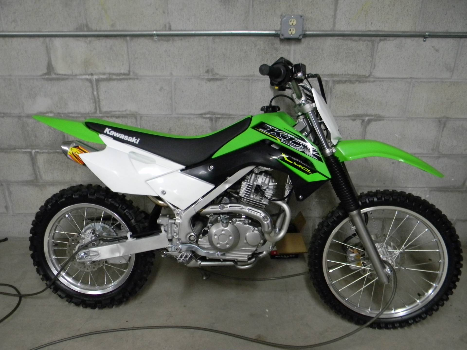 2019 Kawasaki KLX 140 in Springfield, Massachusetts - Photo 1